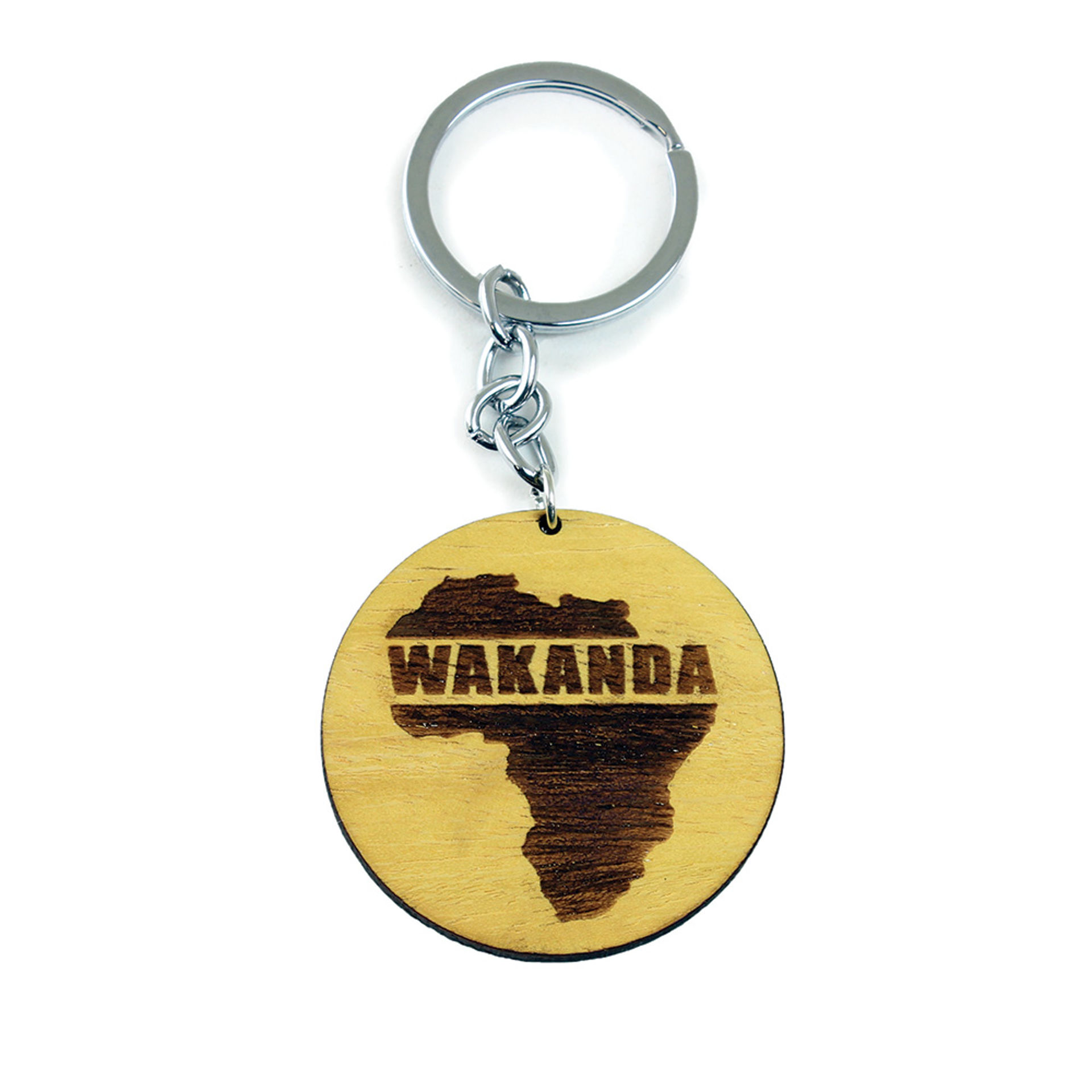Picture of Wooden Wakanda Key Chain