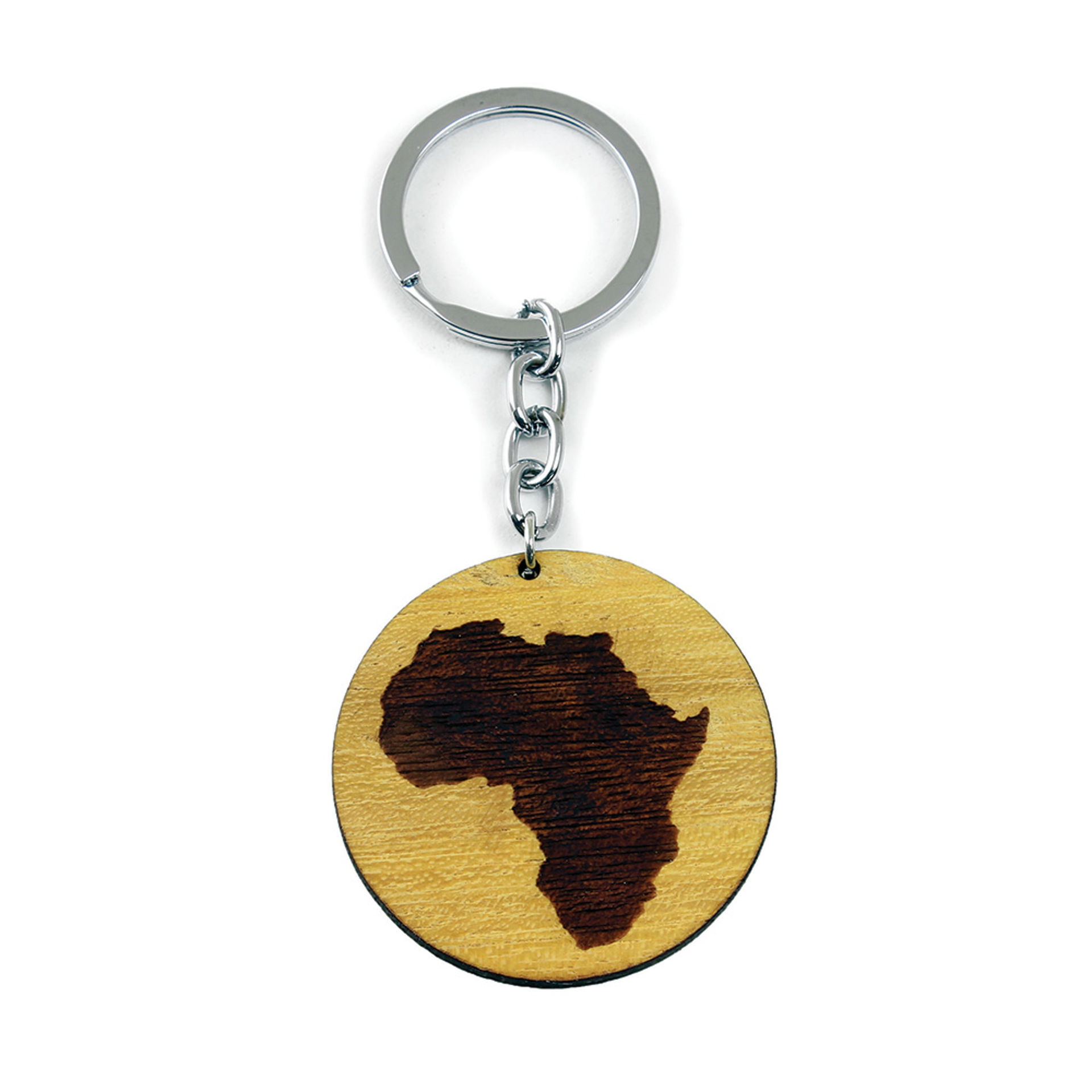 Picture of Wooden Africa Key Chain