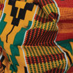 Picture of DAMAGED Colors Of Ghana Kente Purse