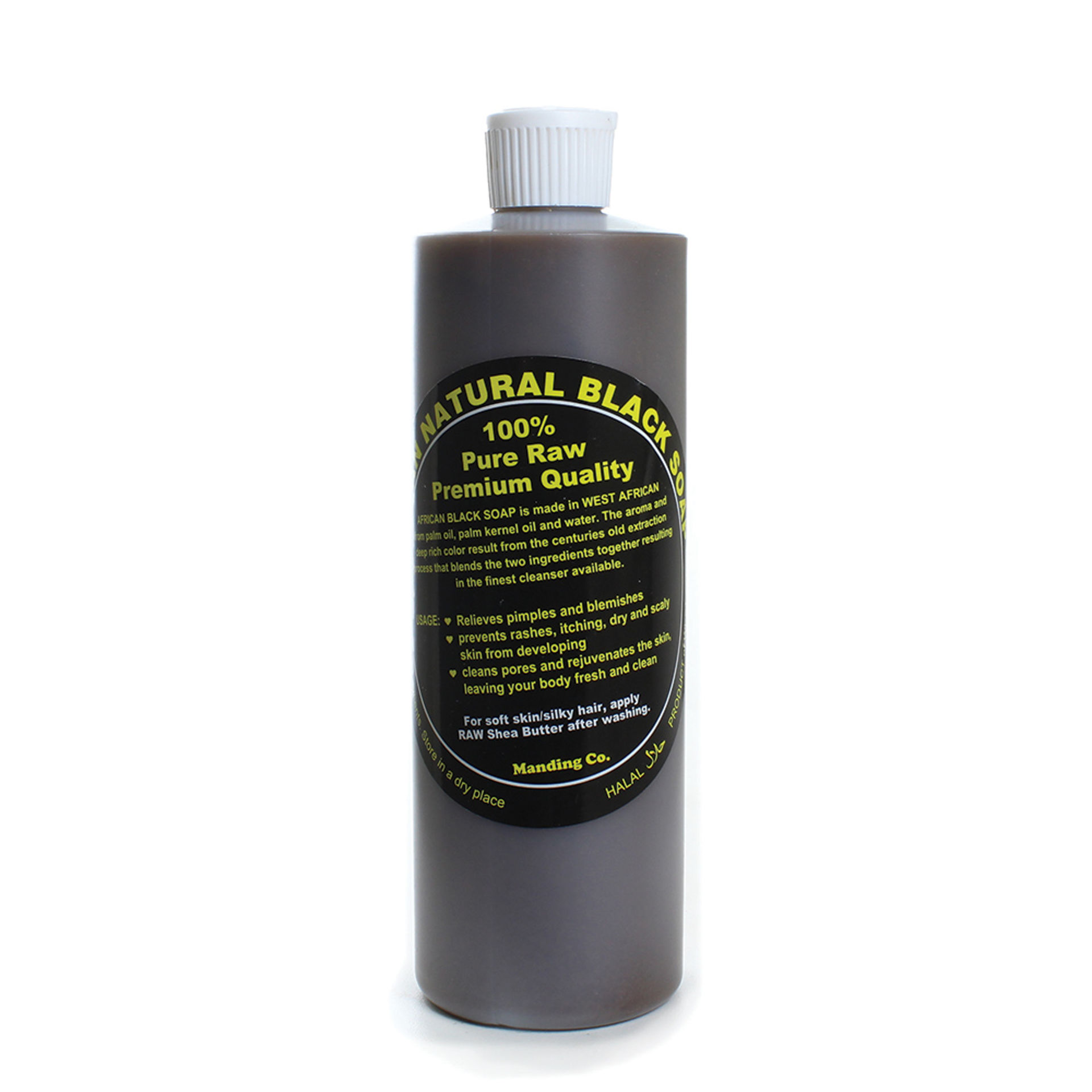 Picture of African Black Soap Liquid Gel - 16 oz.