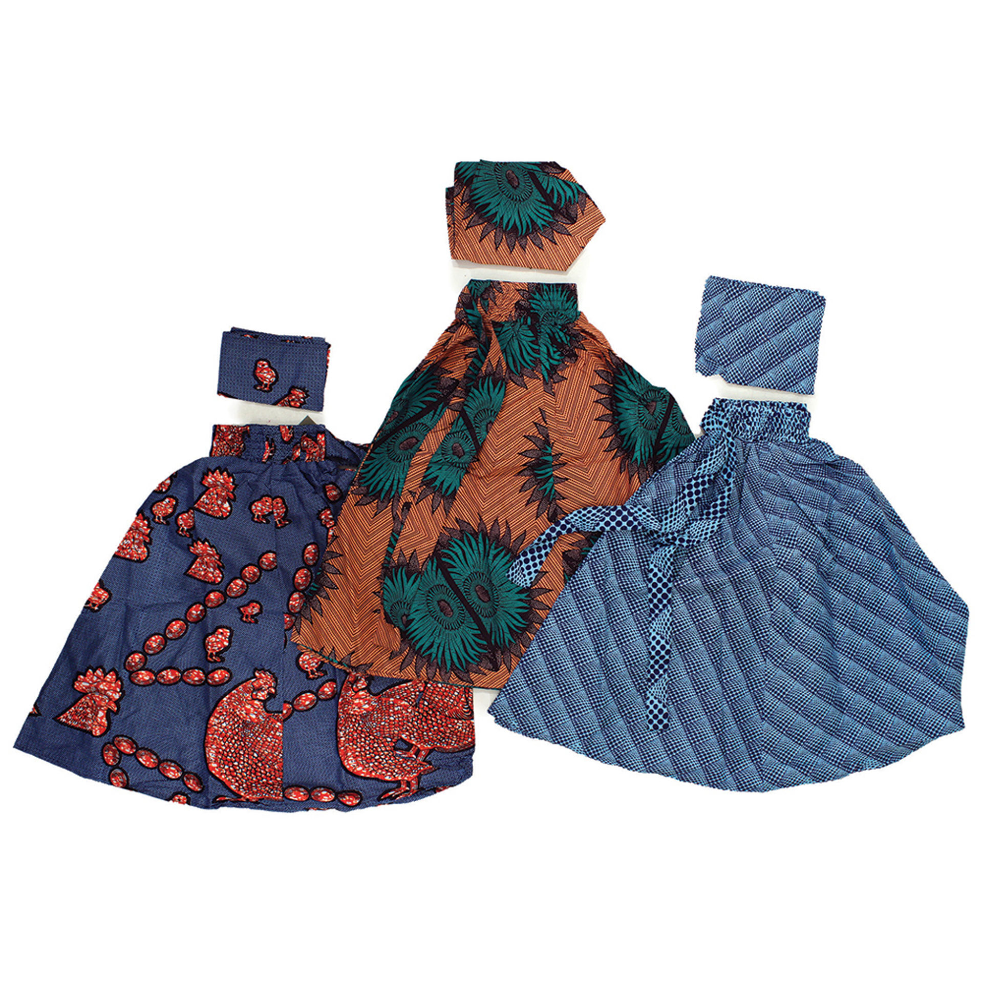 Picture of Set Of 3 ASSORTED Short Skirts