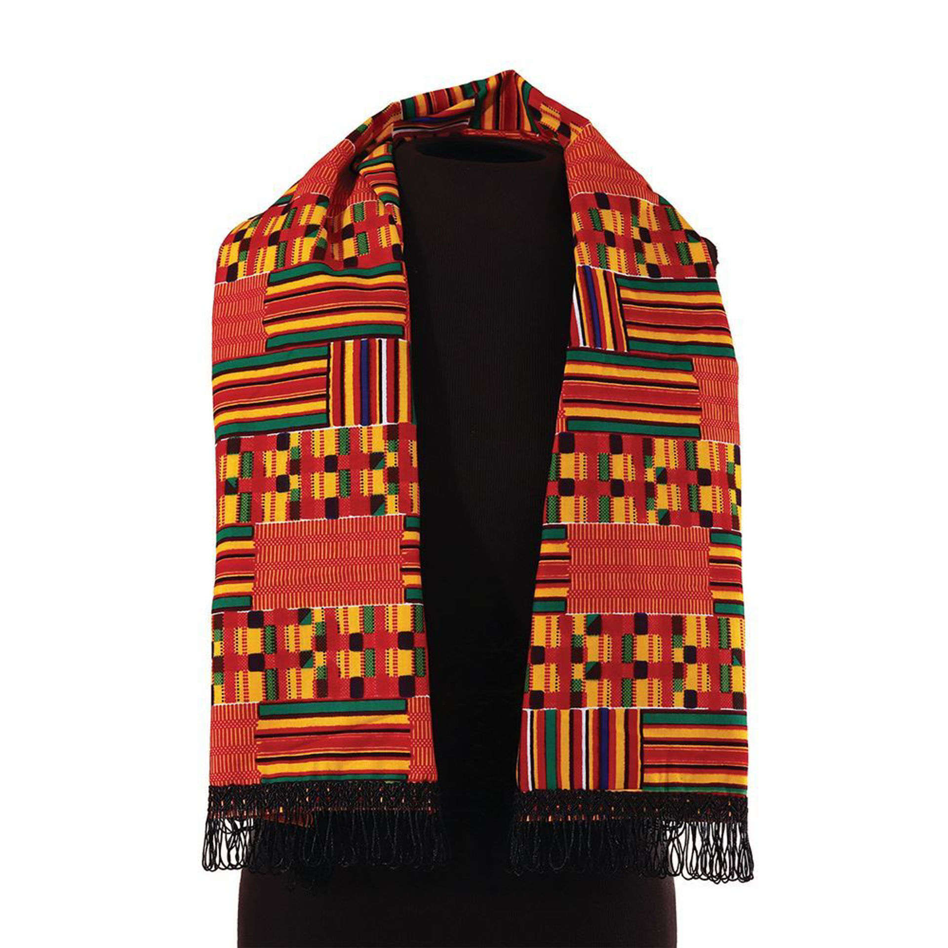 Picture of African-Made Kente Scarf/Table Runner #1
