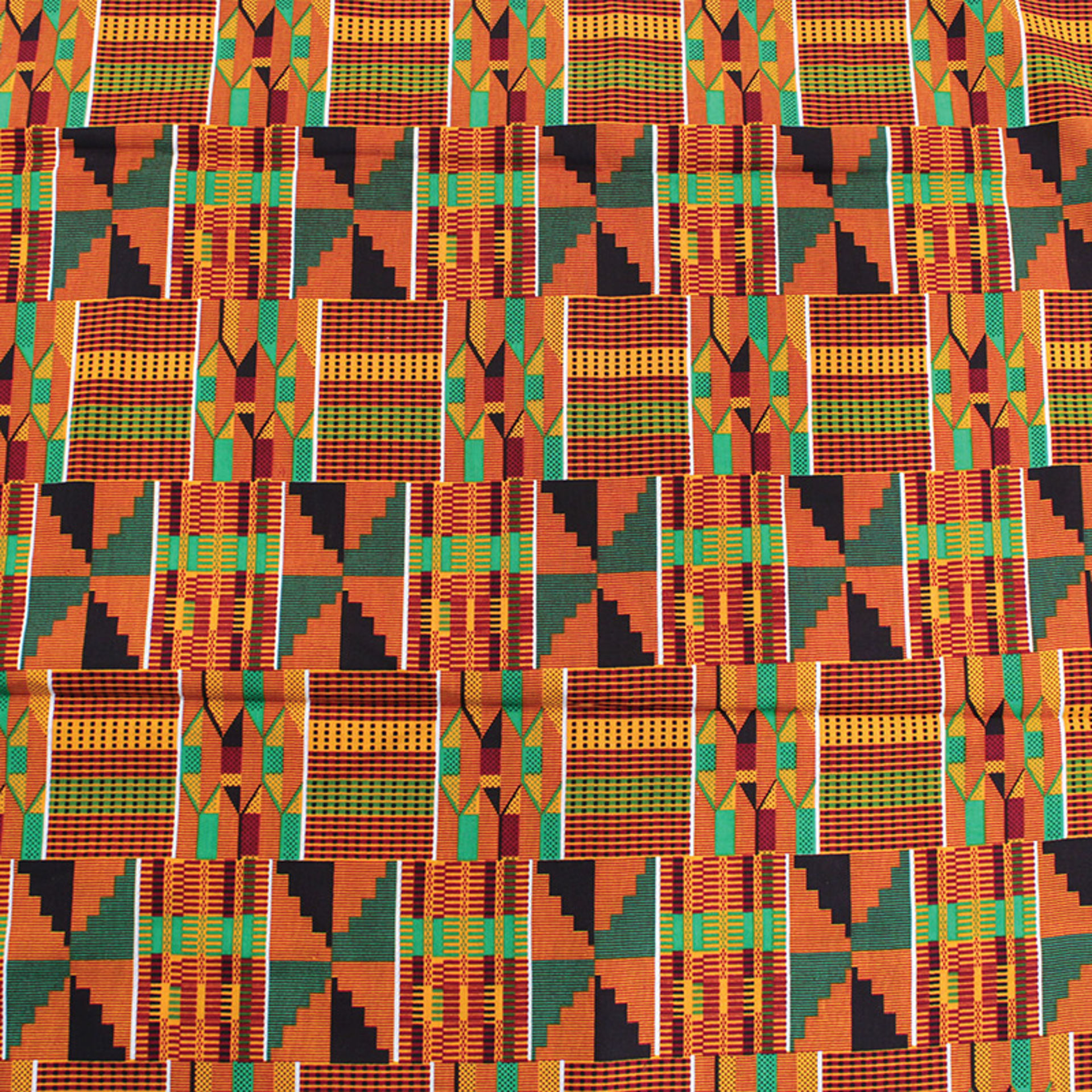 Picture of African Kente Print Fabric #2 - 6 Yards