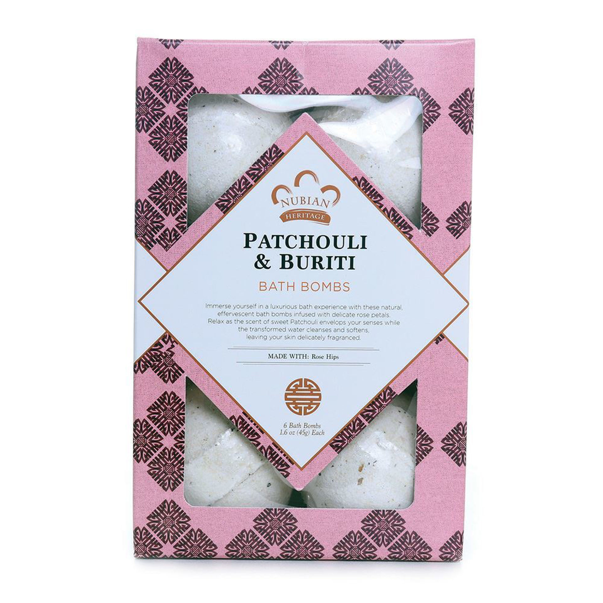 Picture of Set Of 6 Bath Bombs - Patchouli