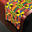 Picture of African-Made Kente Scarf/Table Runner #2