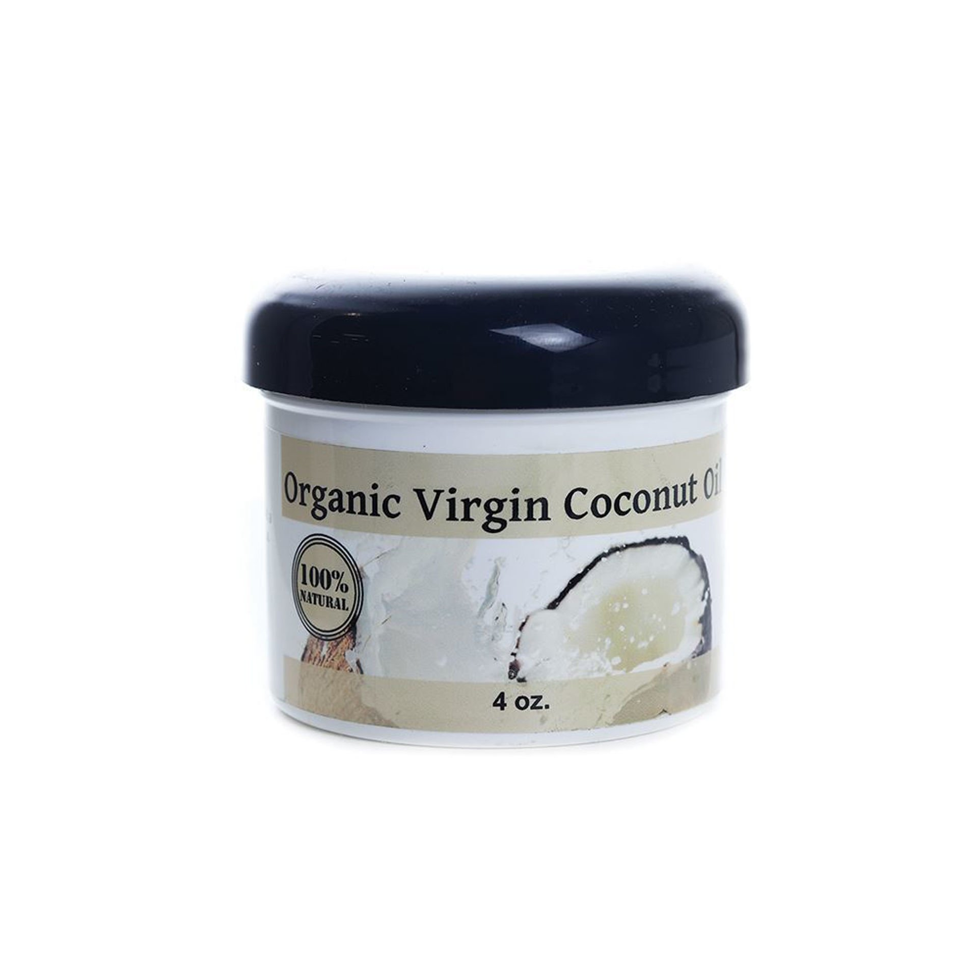 Picture of Organic Virgin Coconut Oil - 4 oz.
