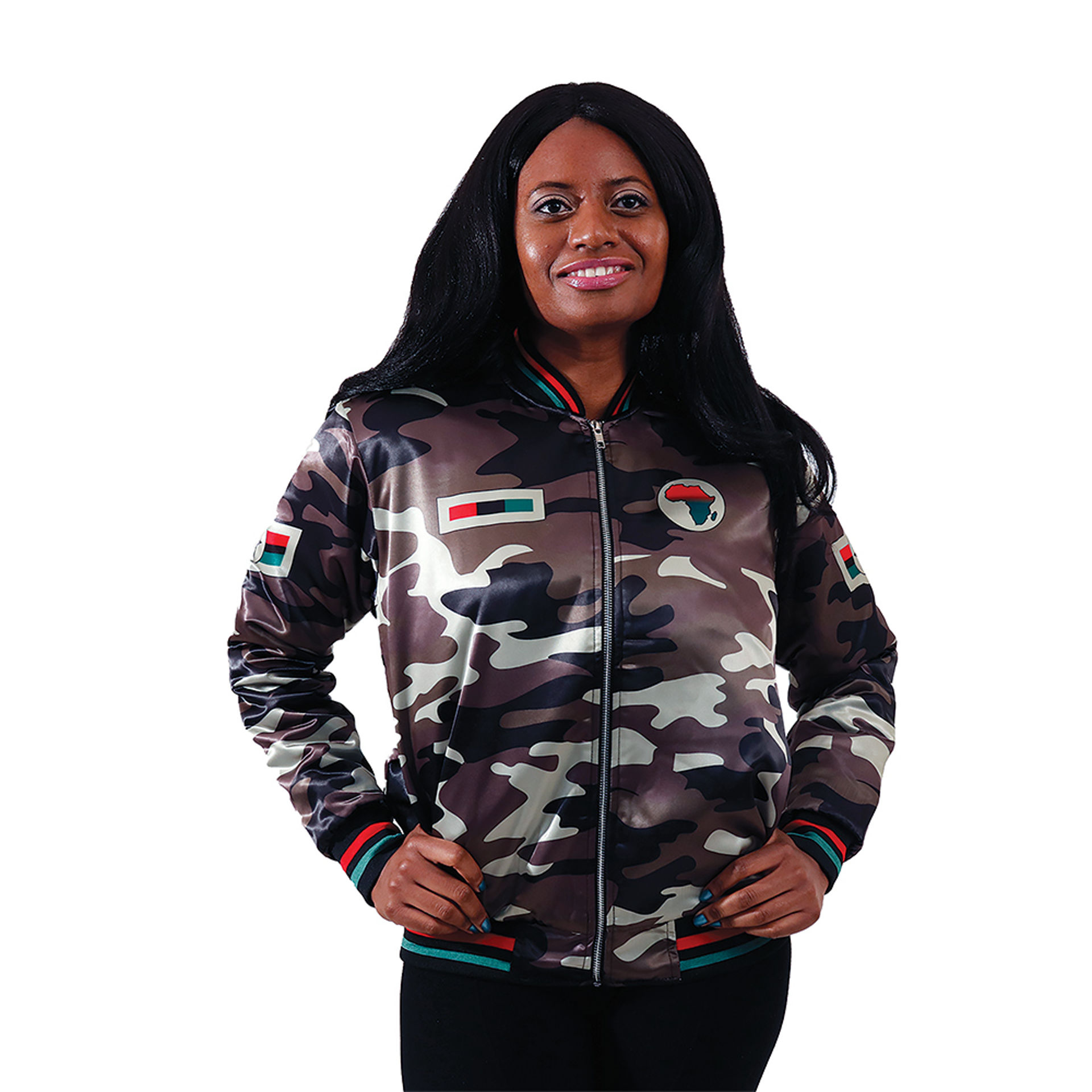 Picture of Woman's African Camo Jacket