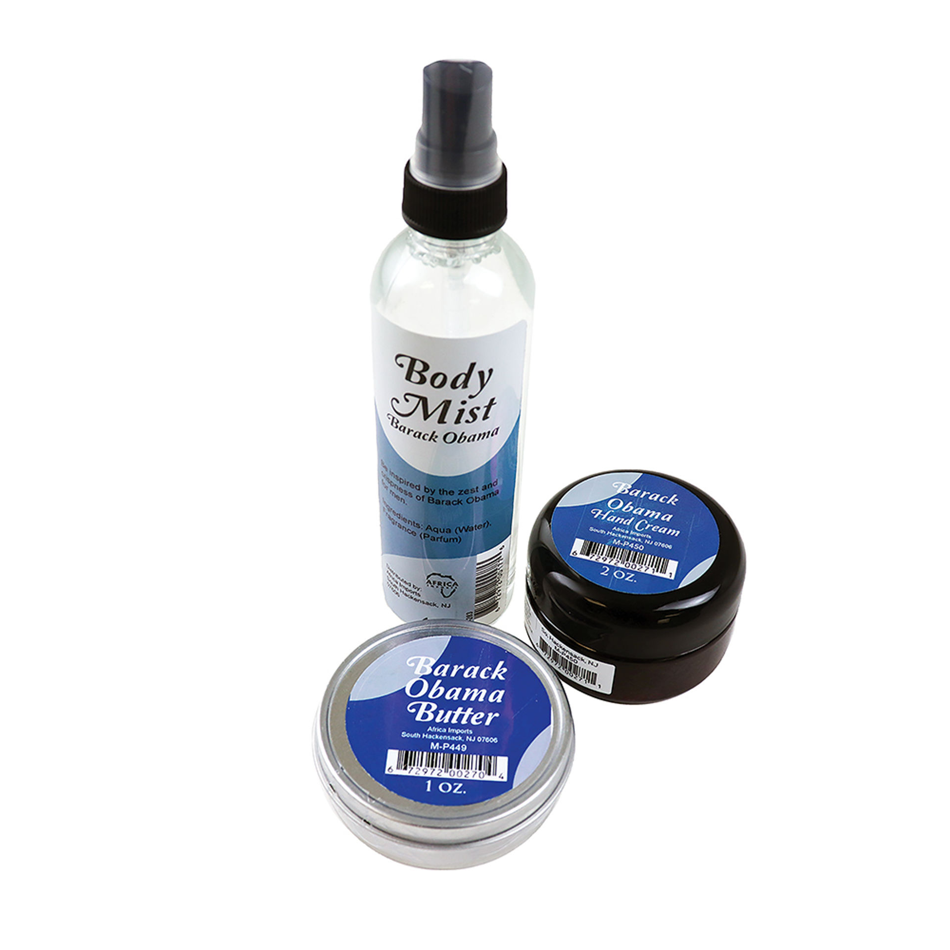 Picture of Barack Obama Skincare Set