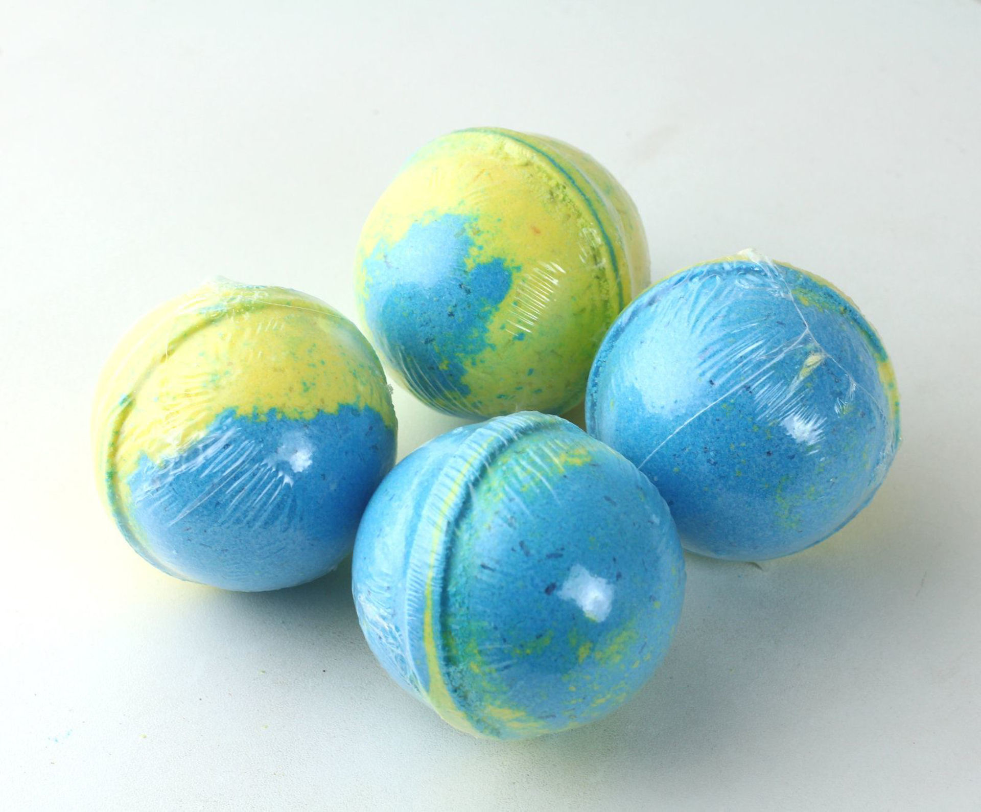 Picture of Caribbean Coconut Bath Bombs: 4 Pack