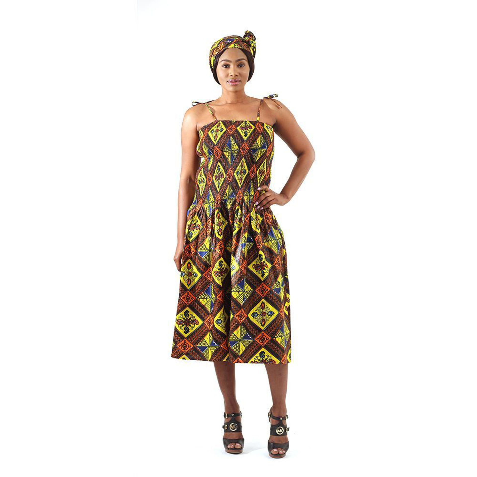 Picture of African Royalty Print Dress