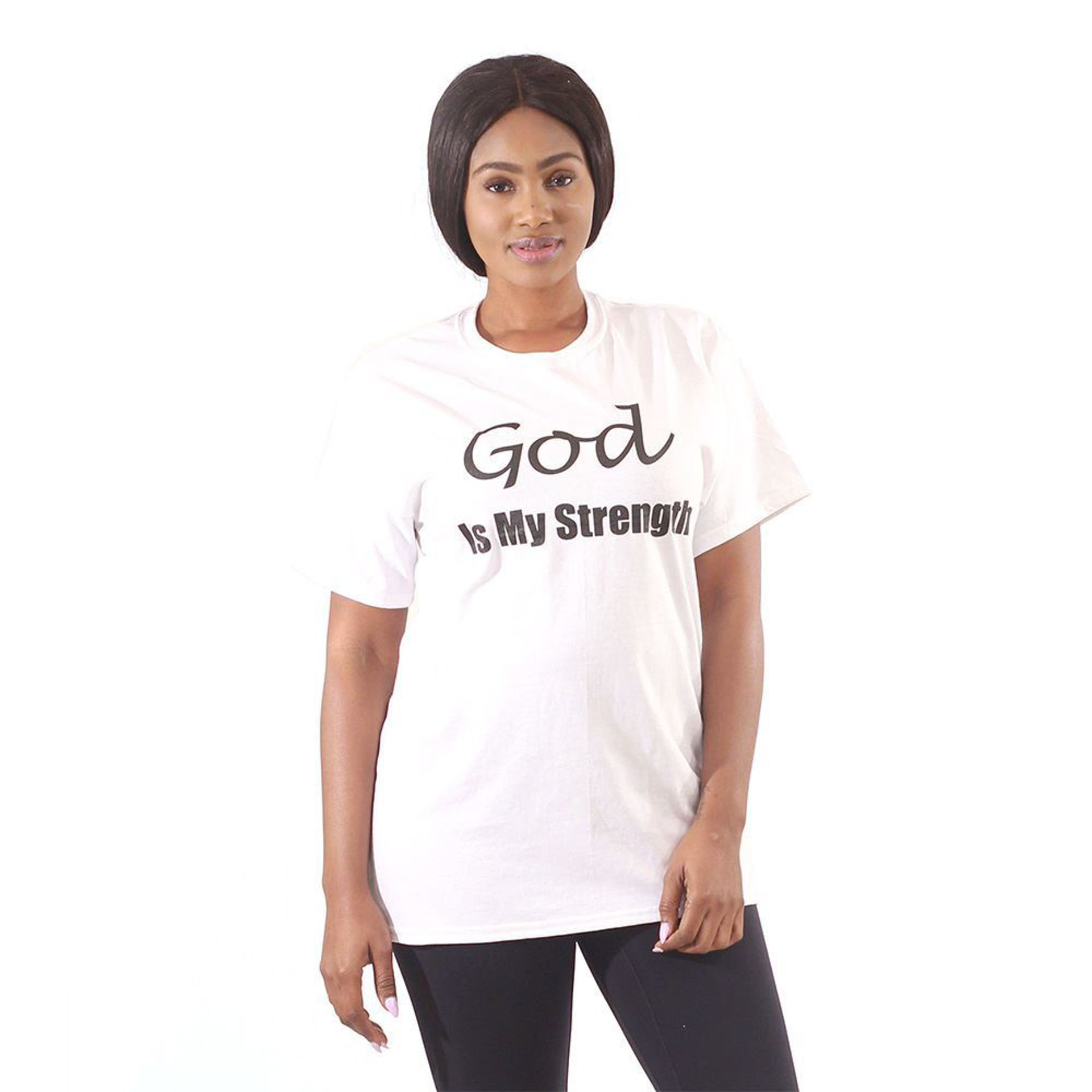 Picture of God Is My Strength T-Shirt