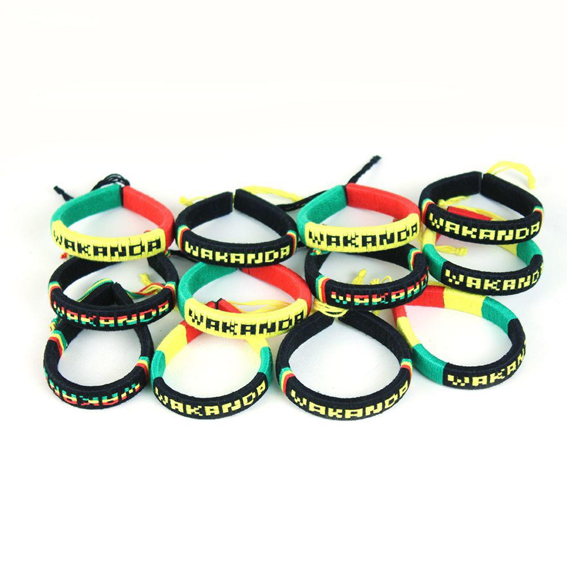 Picture of Set Of 12 Colors Of WAKANDA Bracelets