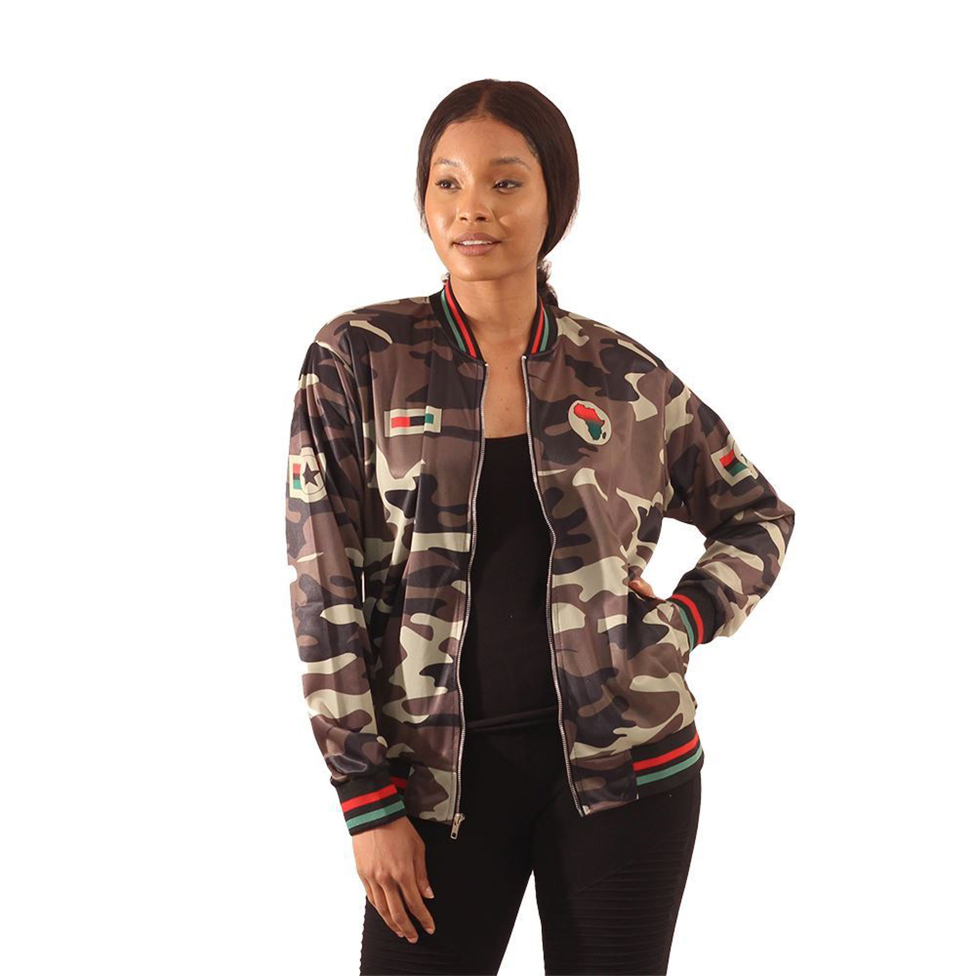 Picture of African Camo Fly Jacket