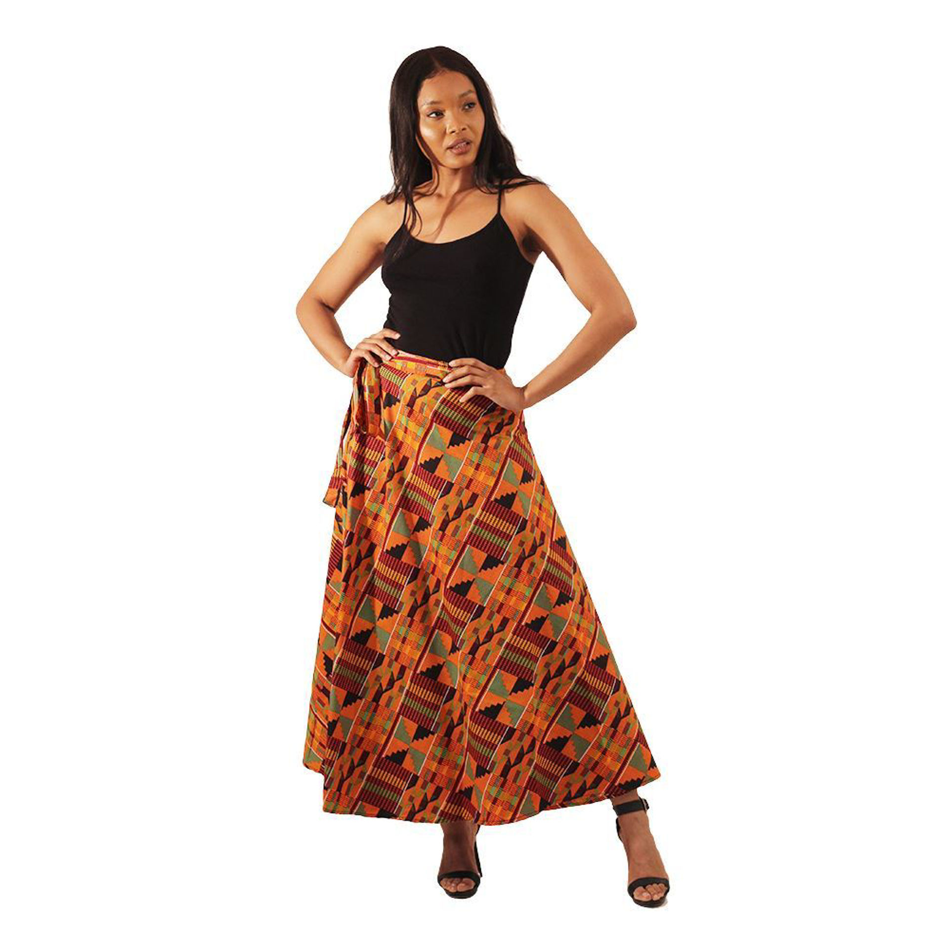 Picture of Kente Wrap Skirt #2
