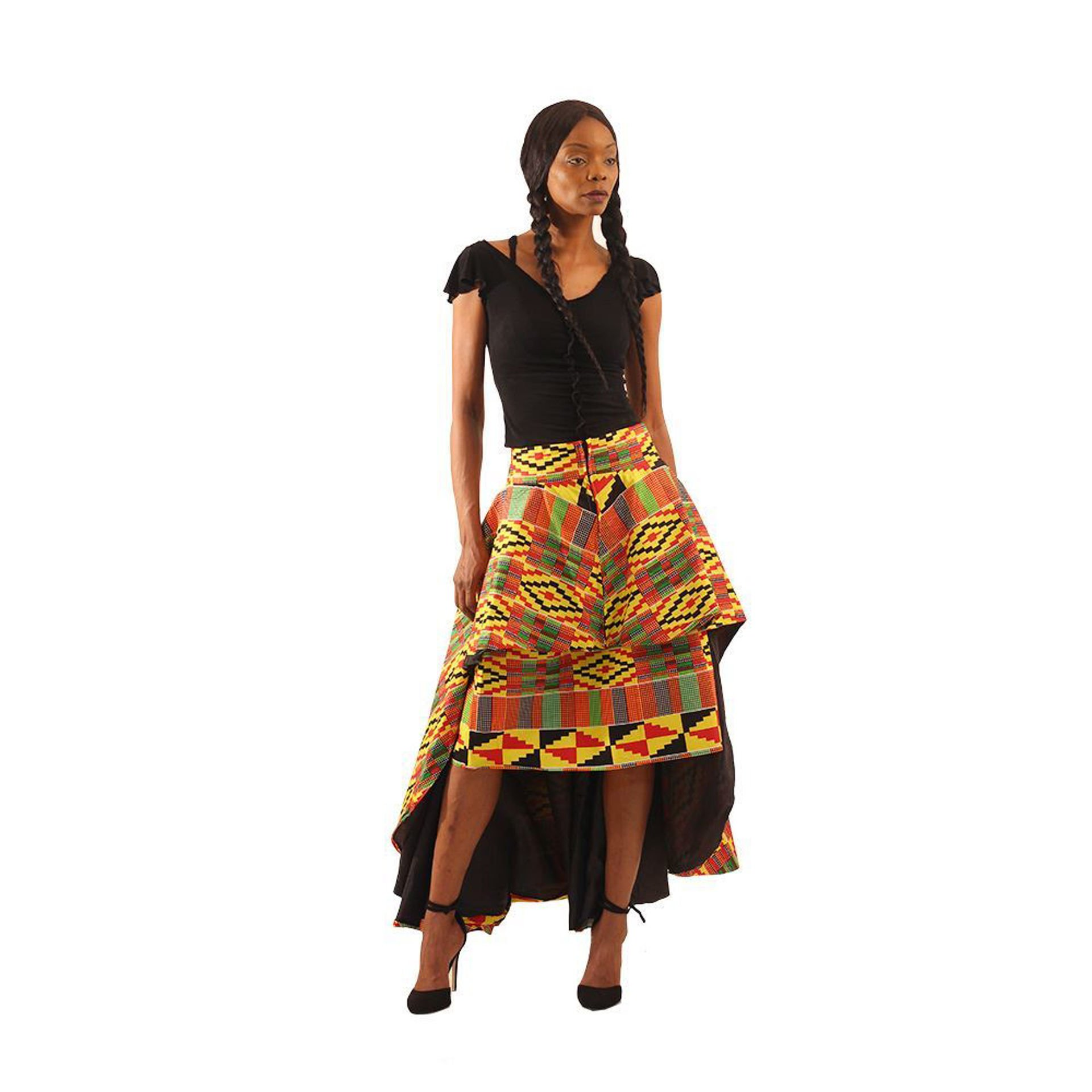 Picture of Kente Hi-Lo 2-pc Skirt