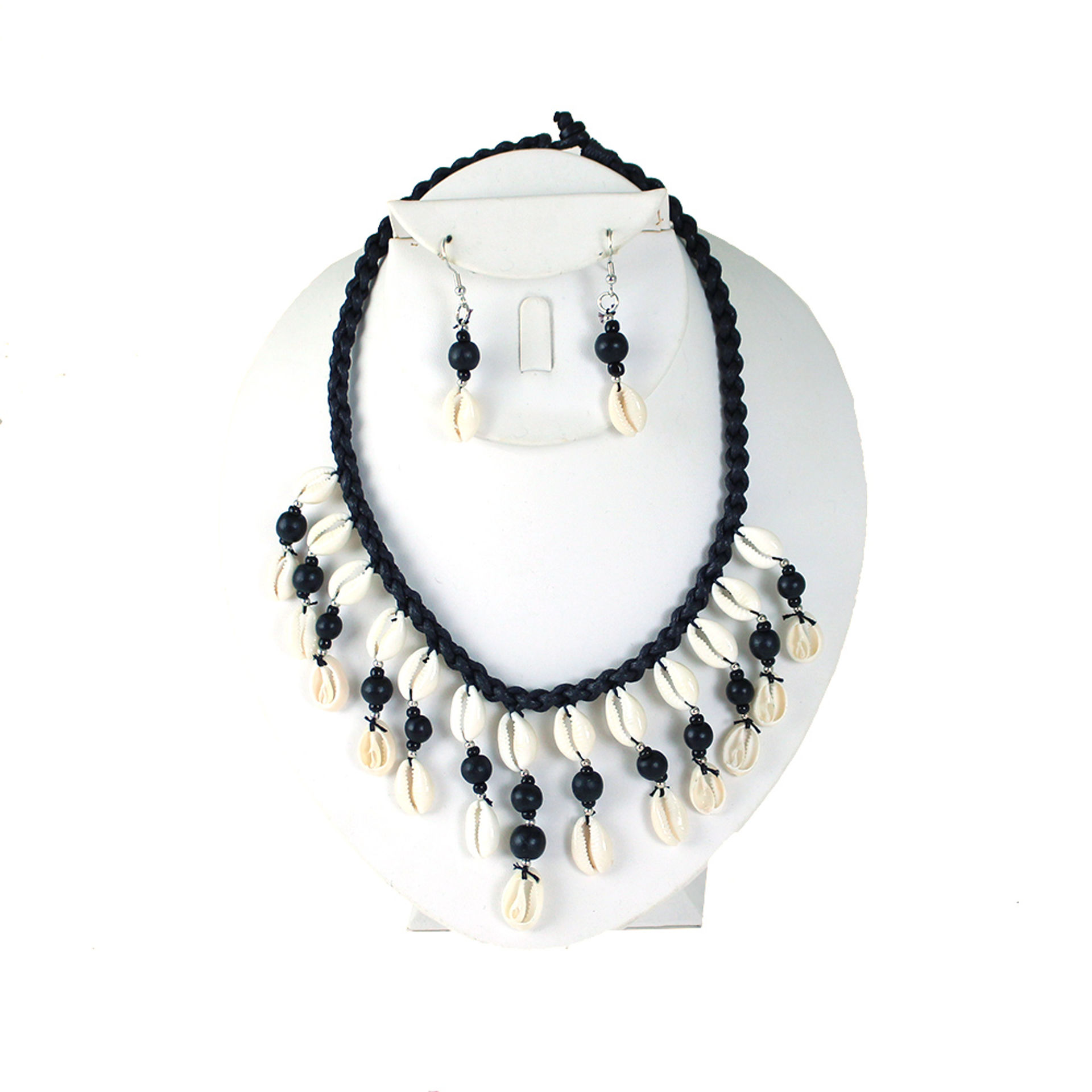 Picture of Cowrie Shell Necklace & Earring Set
