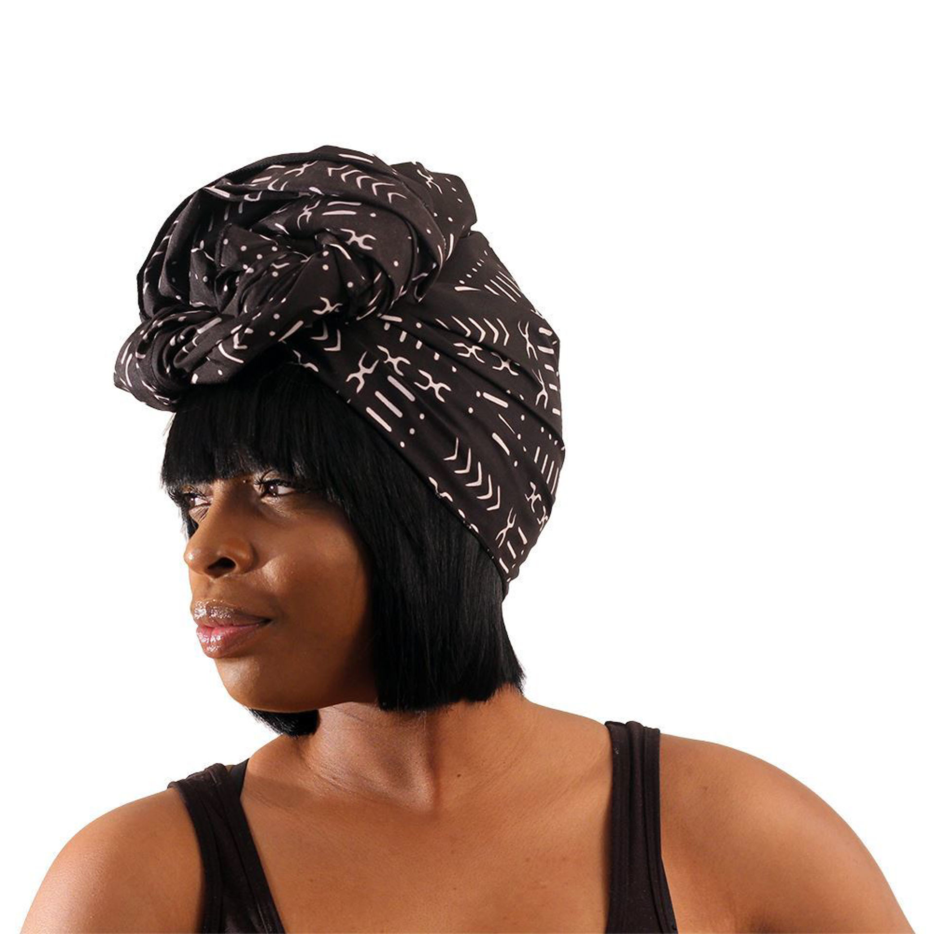 Picture of Black Mud Print Head Wrap