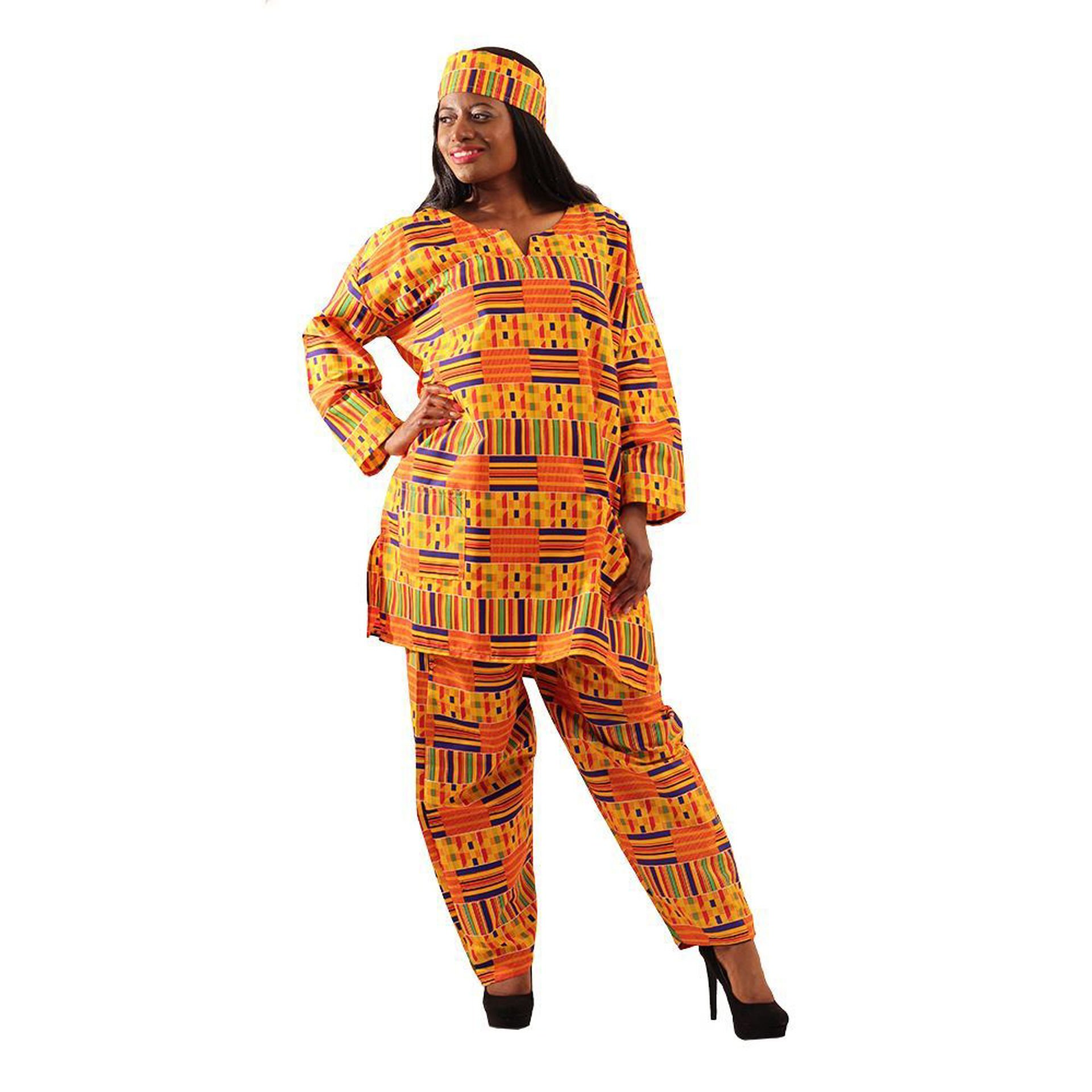 Picture of Kente Pant Set: #1