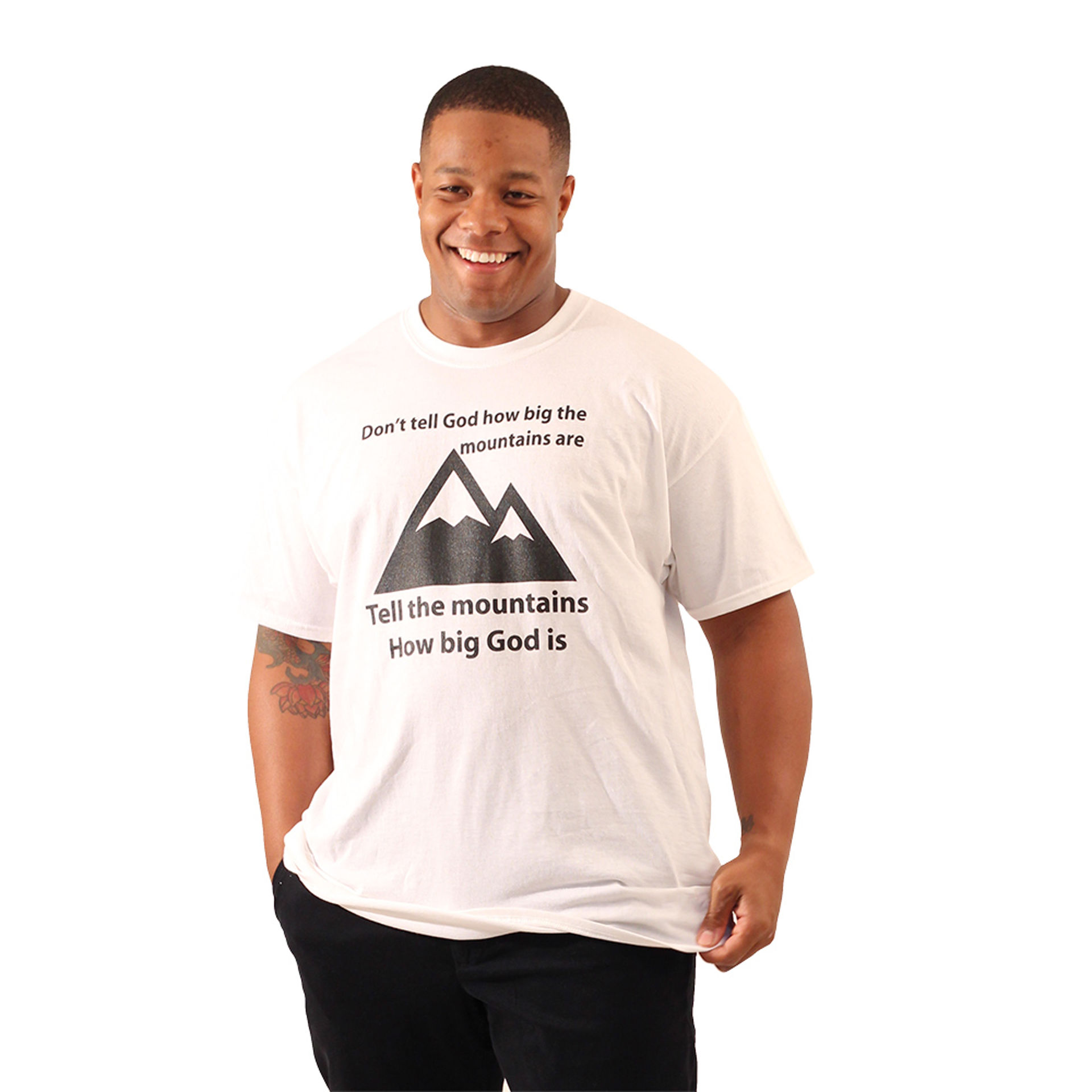Picture of God/Mountains T-Shirt