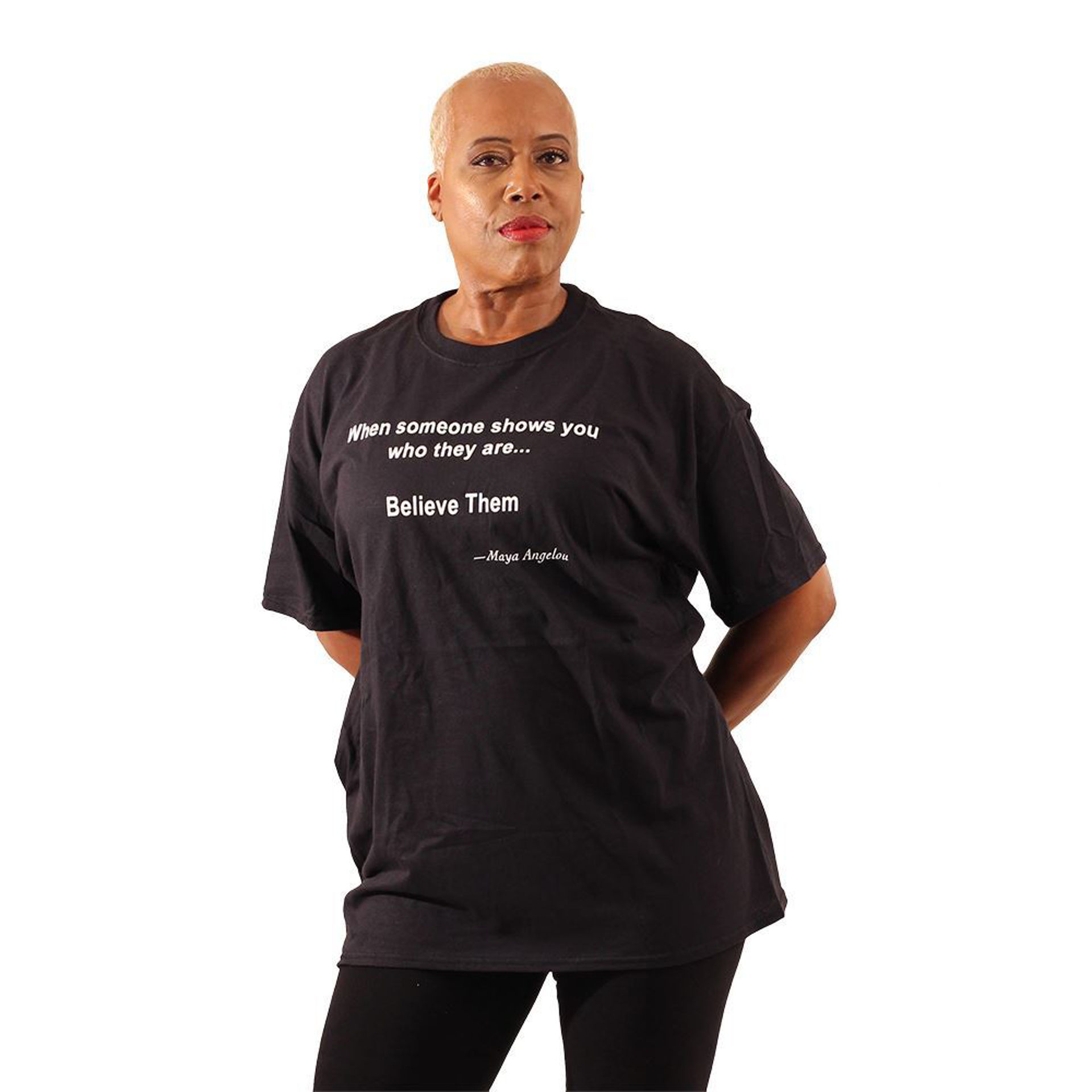 Picture of Maya Angelou: Believe T-Shirt