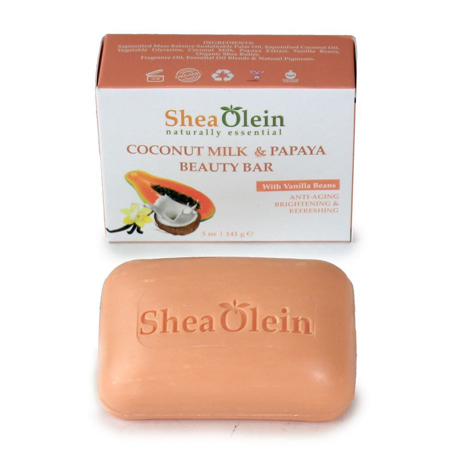 Picture of Coconut Milk & Papaya Soap - 5 oz.