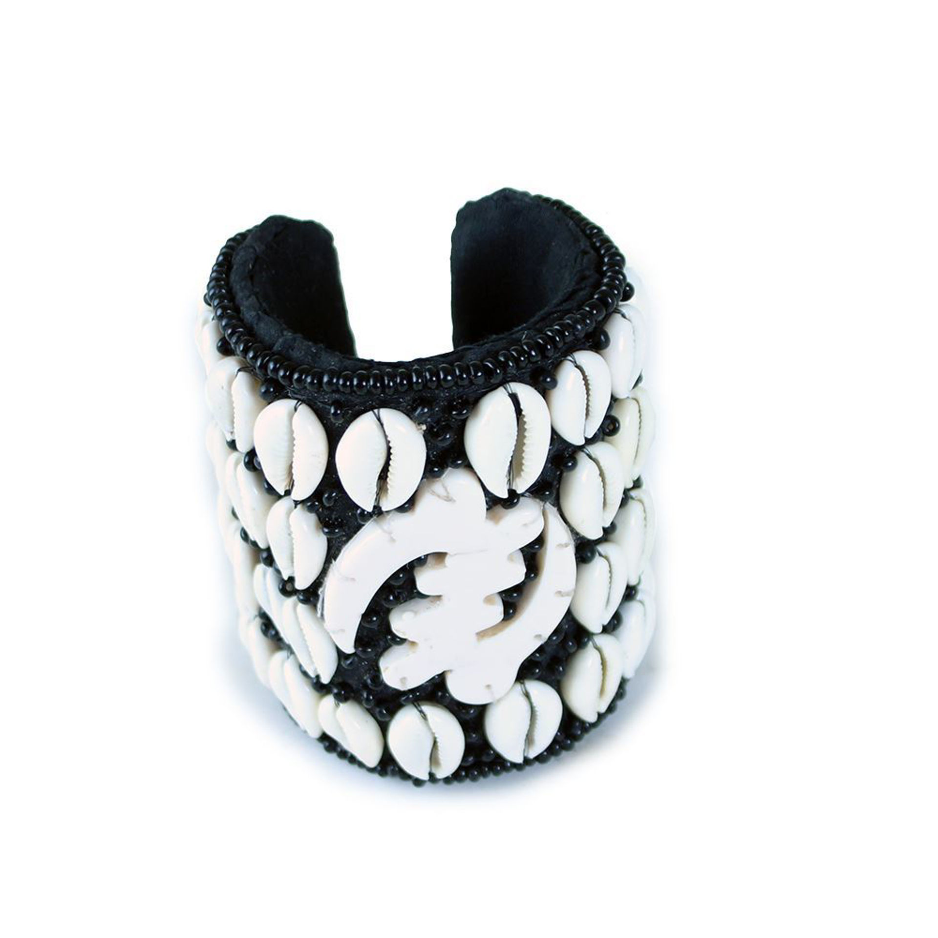 Picture of Gye Nyame Cowrie Shell Long Cuff