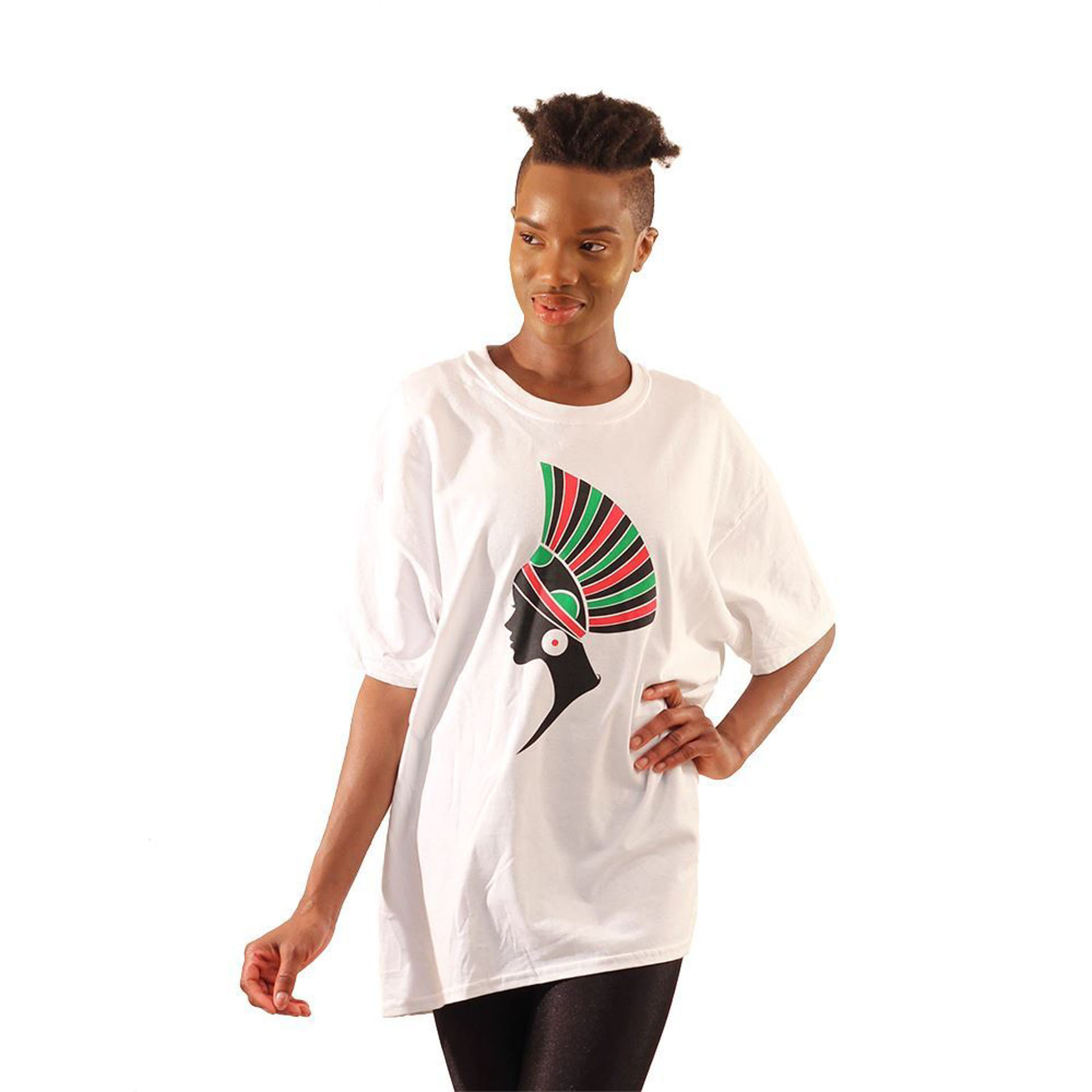 Picture of African Head Piece T-Shirt