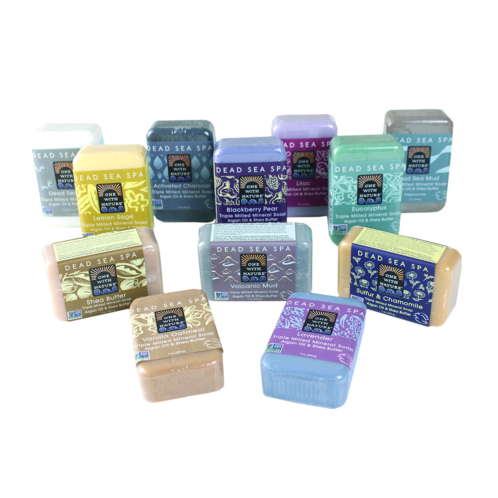 Picture of Set Of 12 Dead Sea Minerals Soap