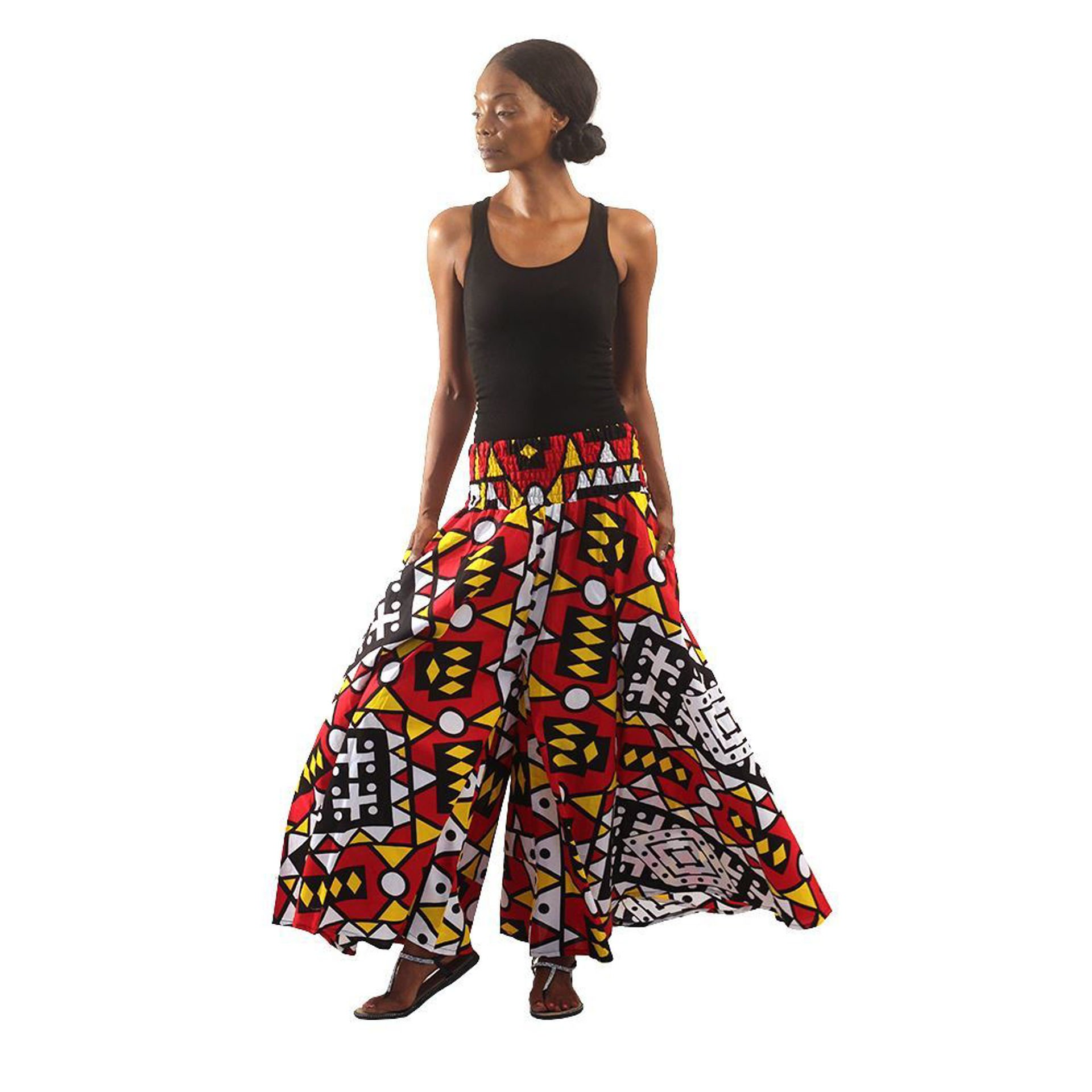 Picture of Colors Of Uganda Palazzo Pants