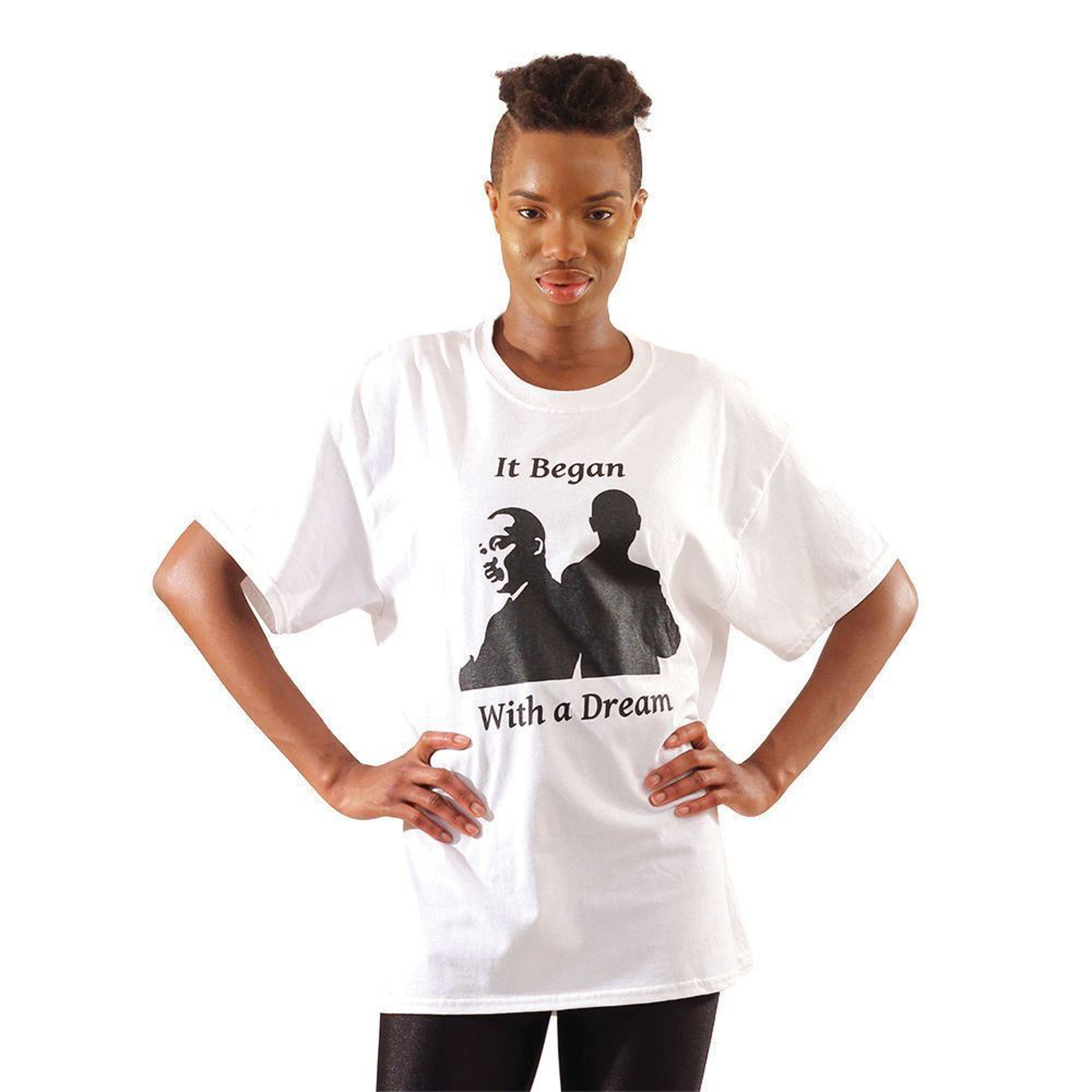 Picture of MLK It Began With A Dream T-Shirt