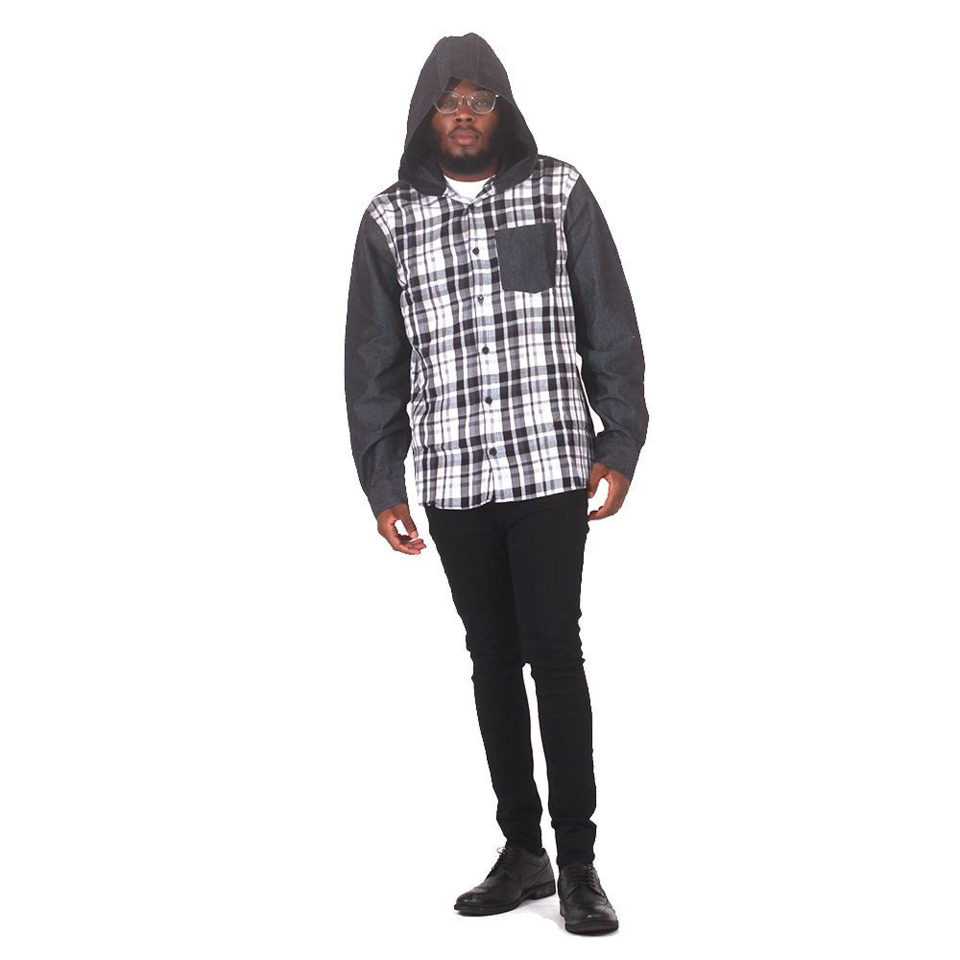 Picture of Black & White Hoodie