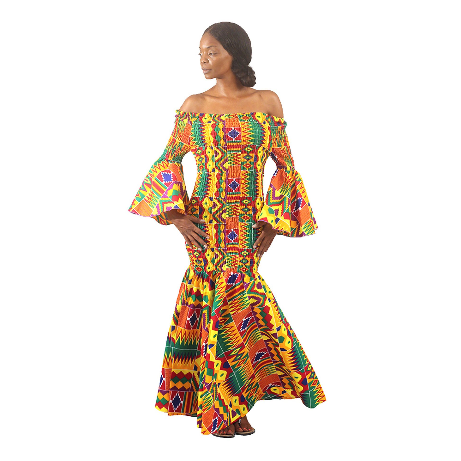 Picture of African-Made Kente Gown