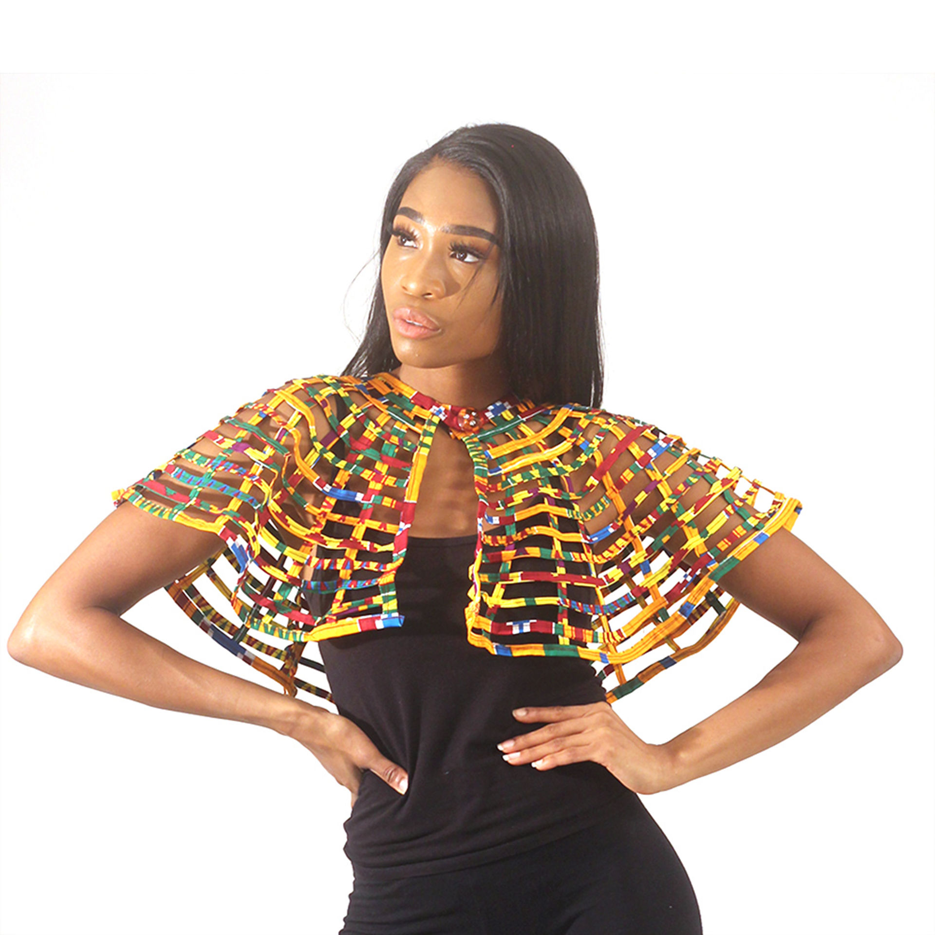 Picture of Kente Print Capette