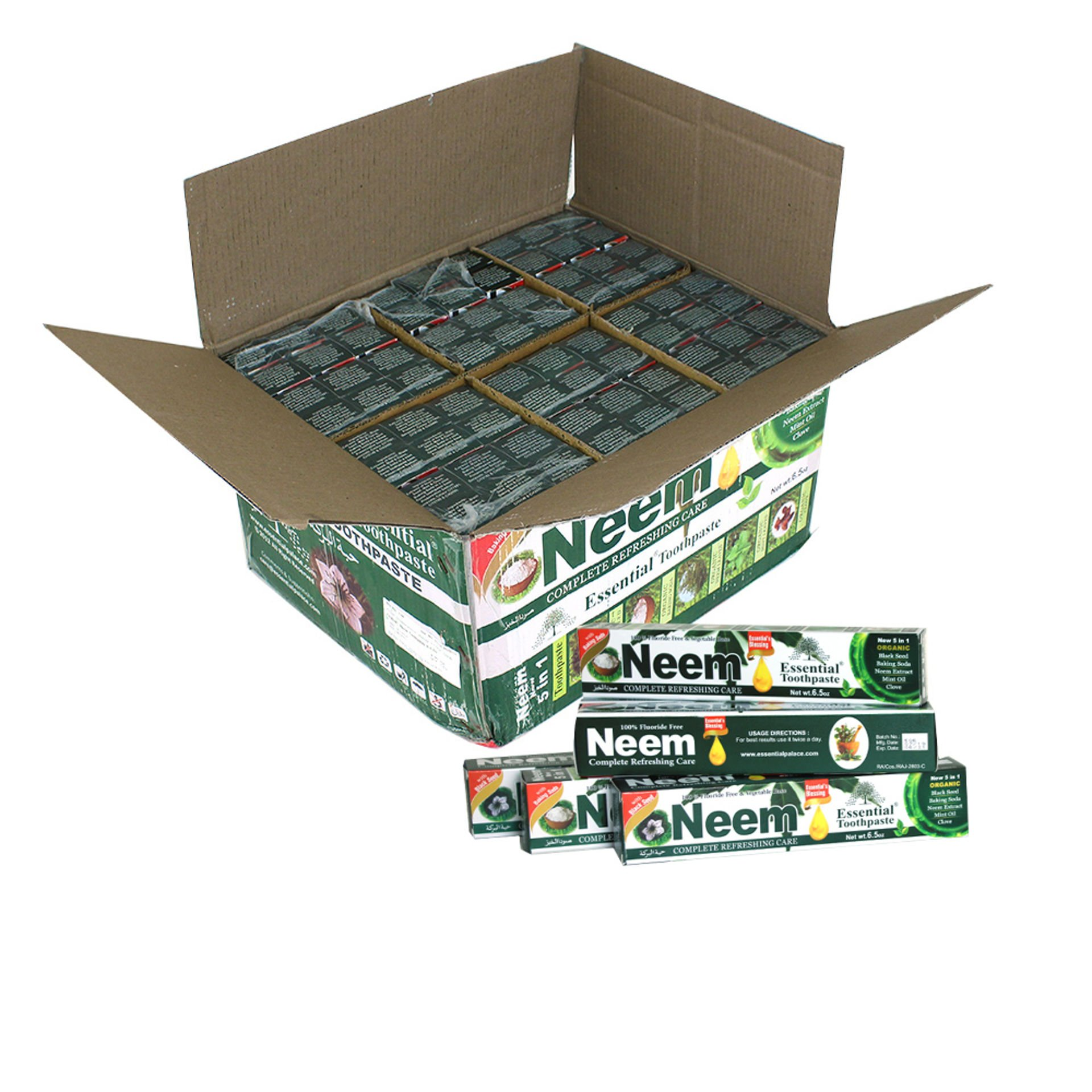 Picture of Neem Essential Toothpaste - Case Of 72