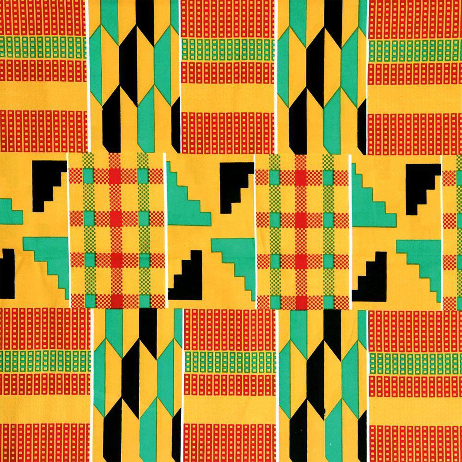 Picture of ECONOMY Kente Fabric #2 - 12Y