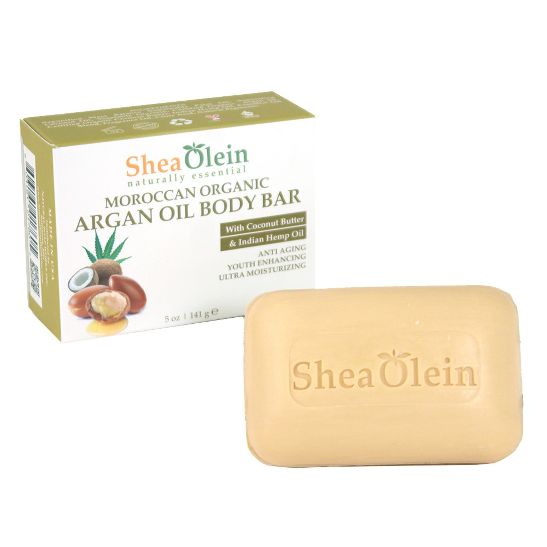 Picture of Moroccan Organic Argan Oil Soap - 5 oz.