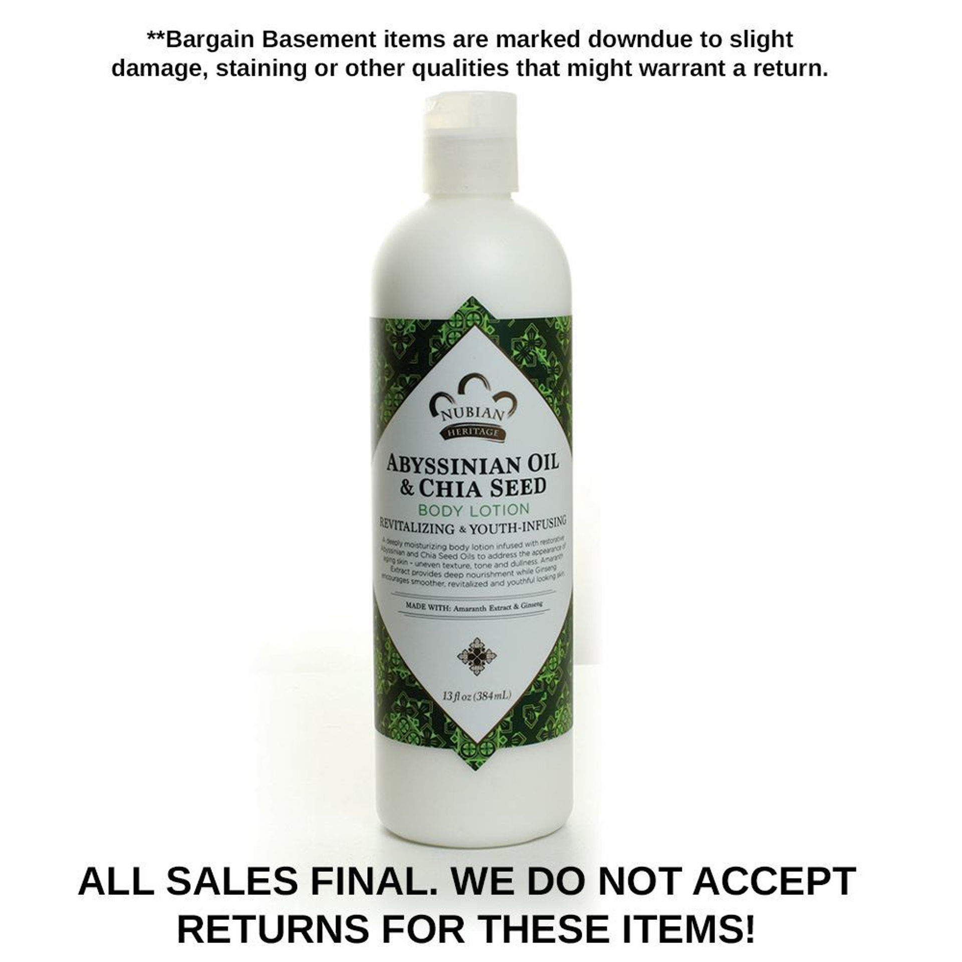 Picture of DISCOUNT Abyssinian Lotion EXPIRED
