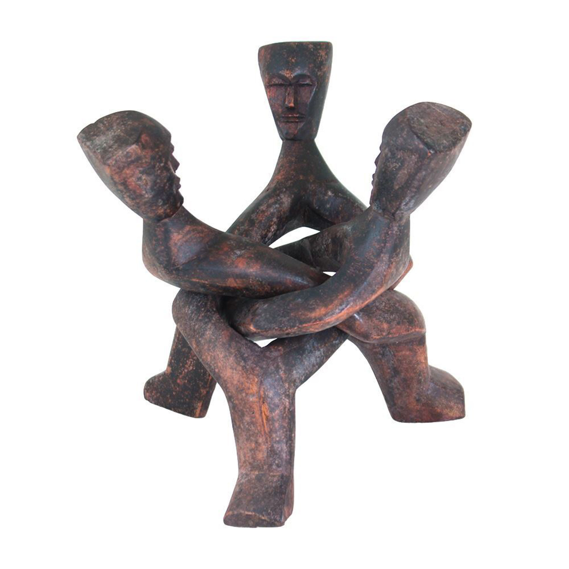 Picture of Three Headed Unity Carving - LG