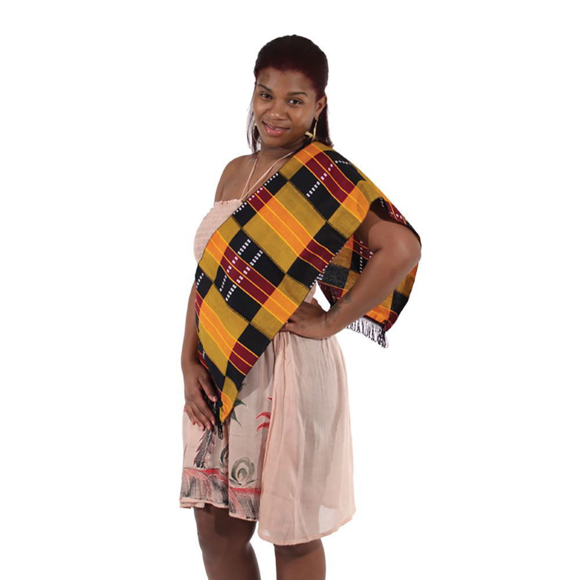 Picture of Premium Kente Scarf/Table Runner #3