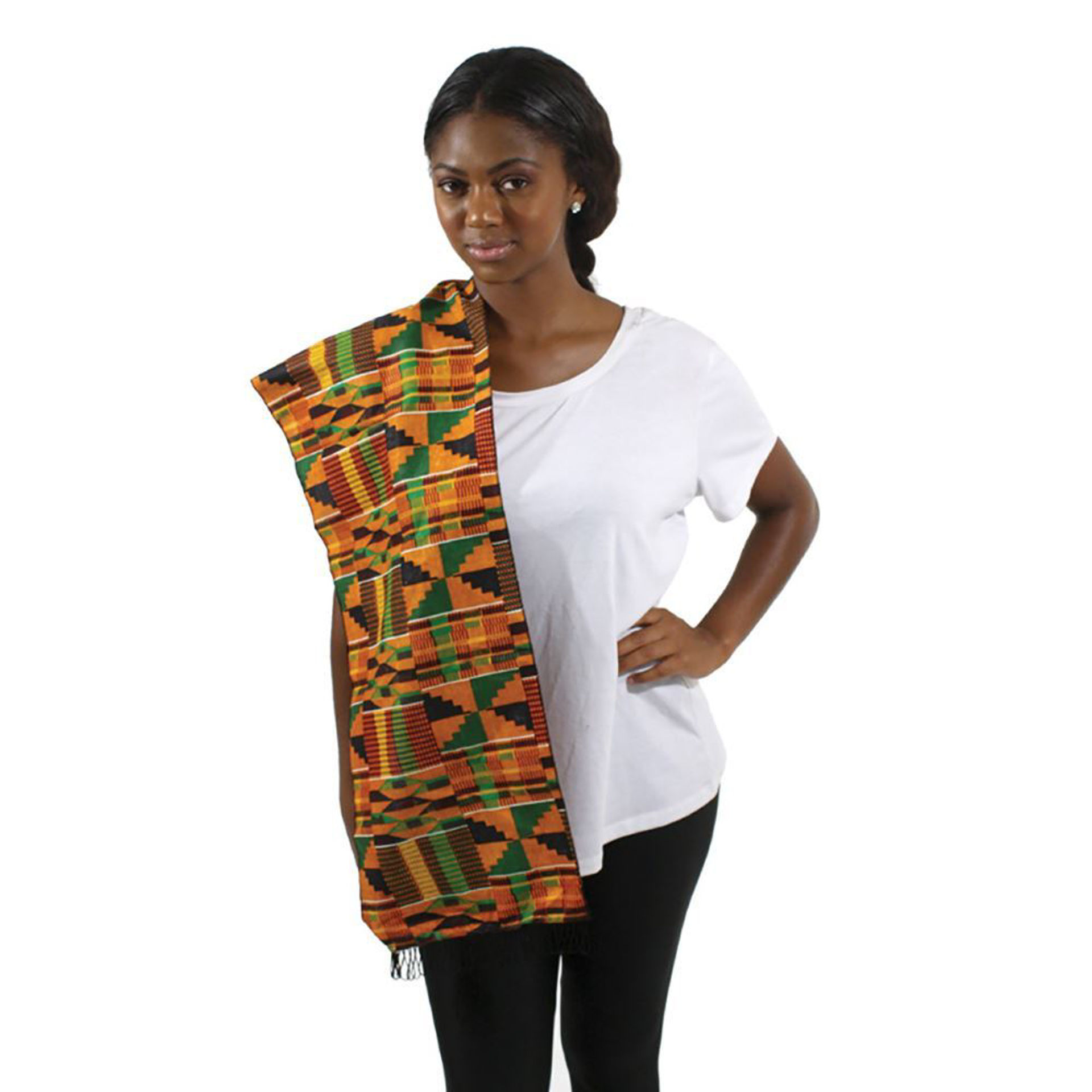 Picture of Premium Kente Scarf/Table Runner #2