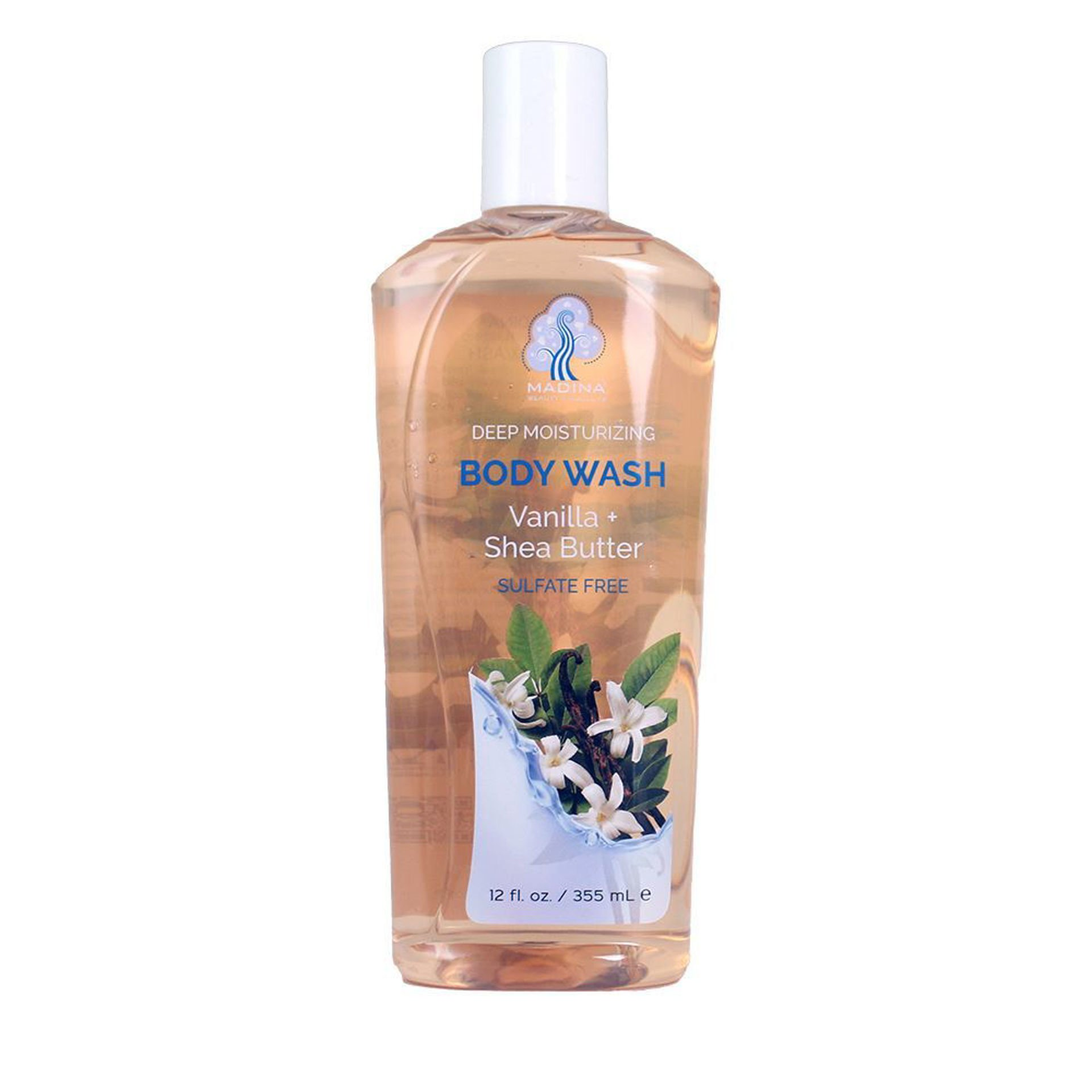 Picture of Vanilla & Shea Butter Body Wash - 12 oz.