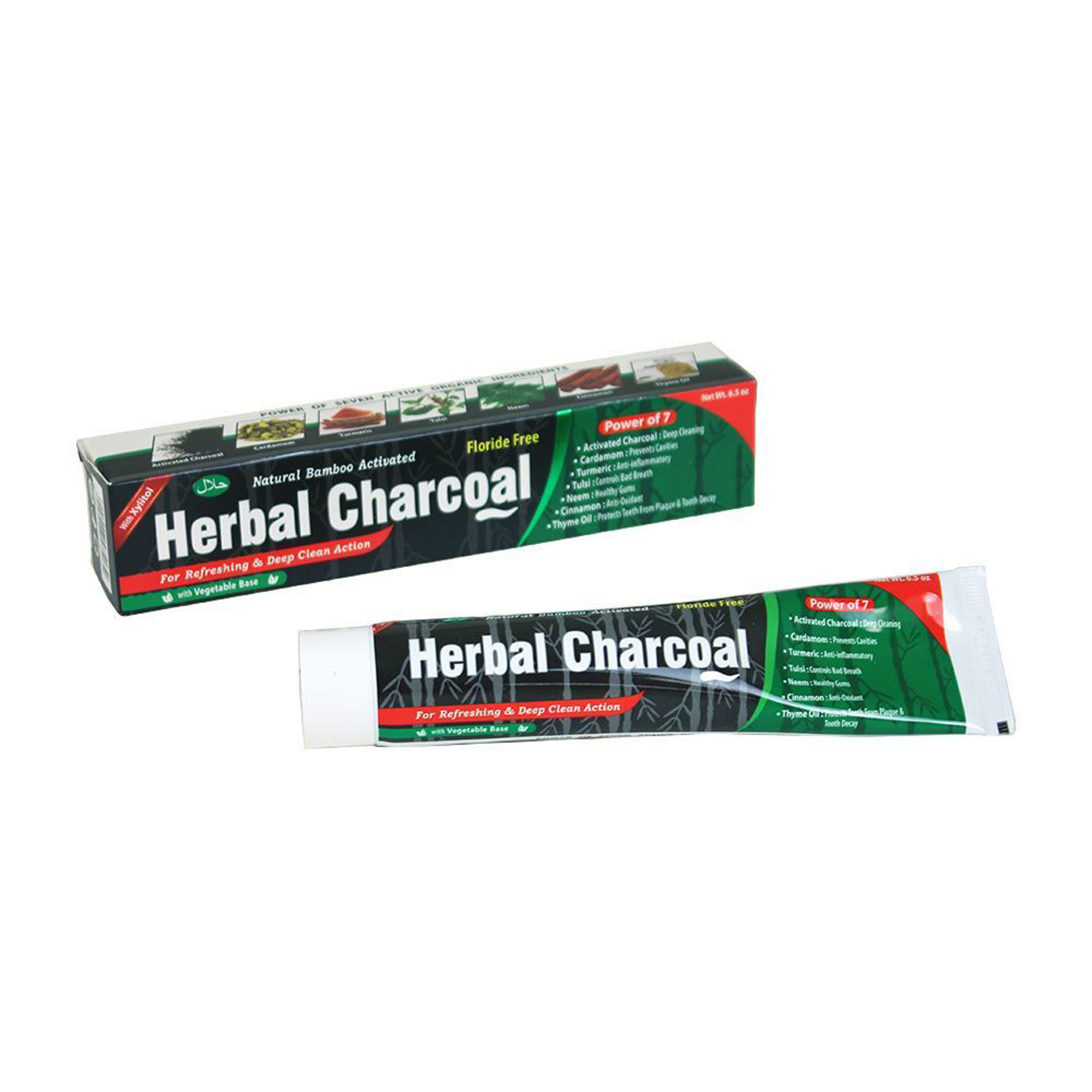 Picture of Herbal Charcoal Toothpaste