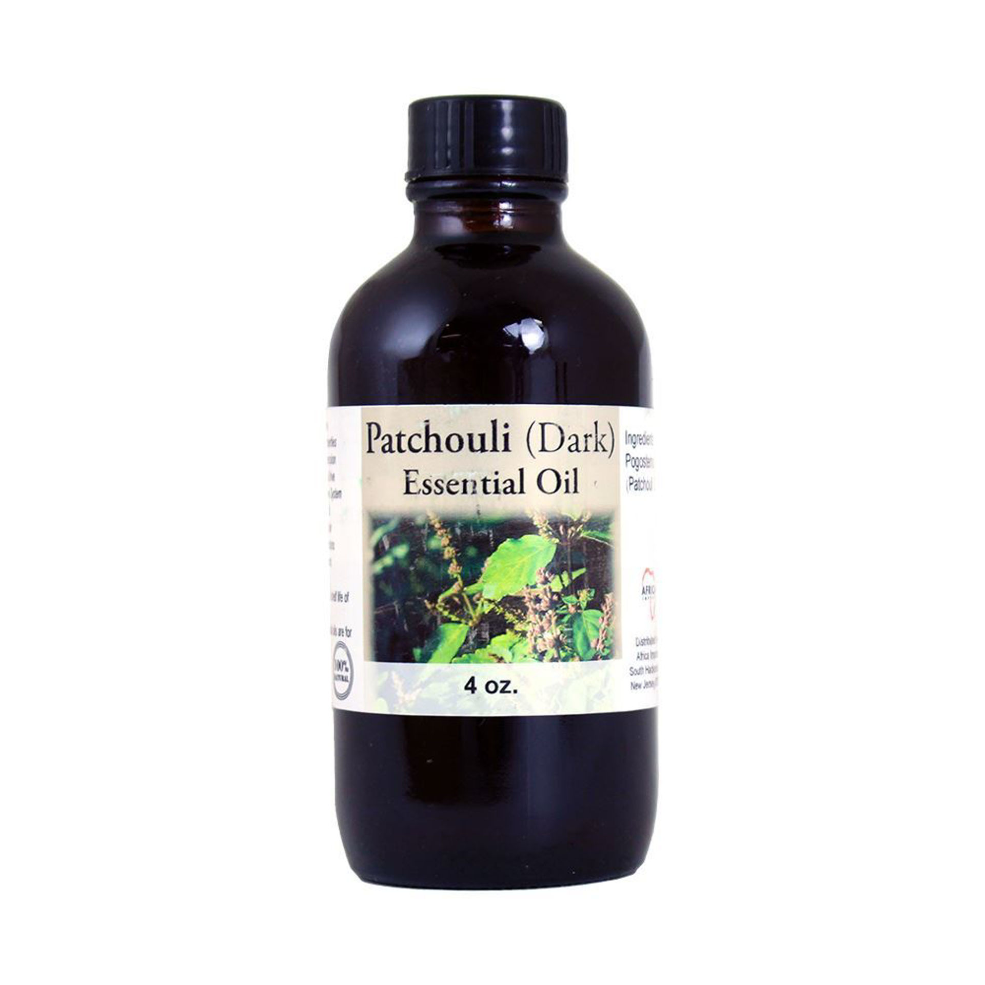 Picture of Patchouli (Dark) Essential Oil - 4 oz.
