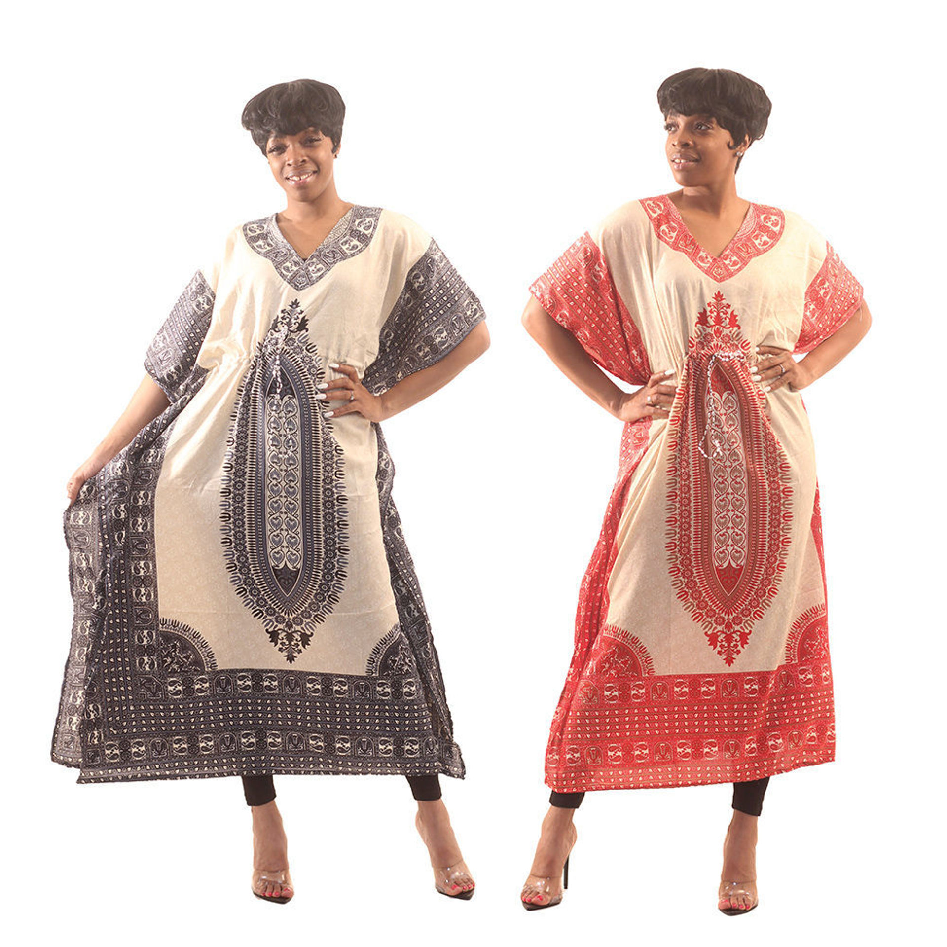 Picture of Royalty Traditional Print Kaftan
