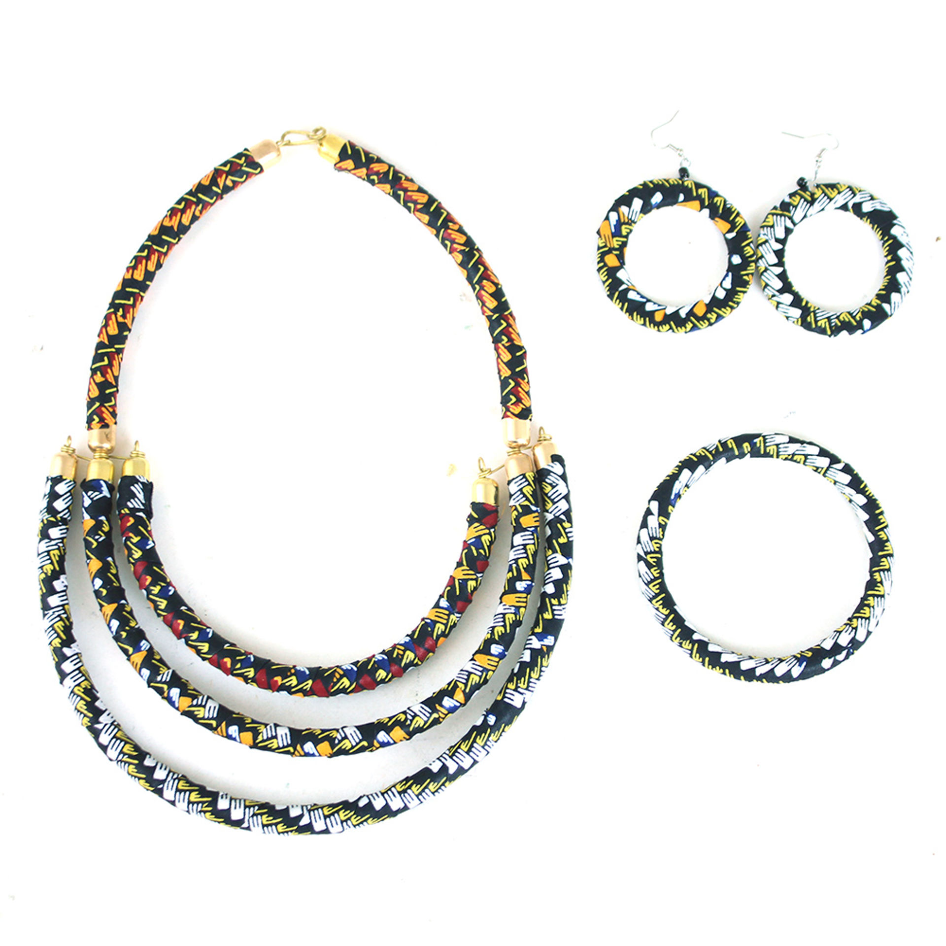 Picture of Kitenge Jewelry Set