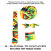 Picture of DAMAGED Yellow Kente Accessory Set