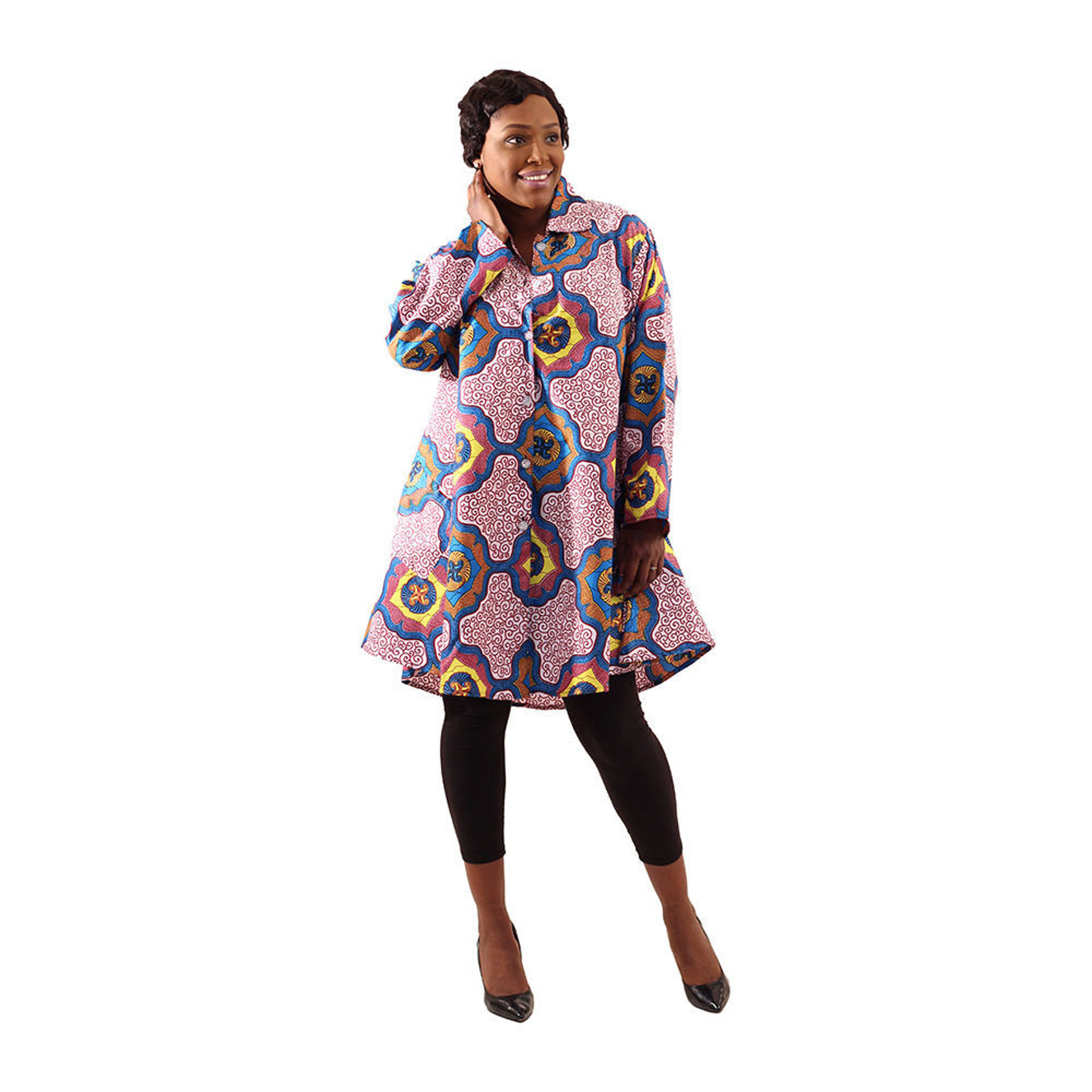 Picture of Royalty Print Smock