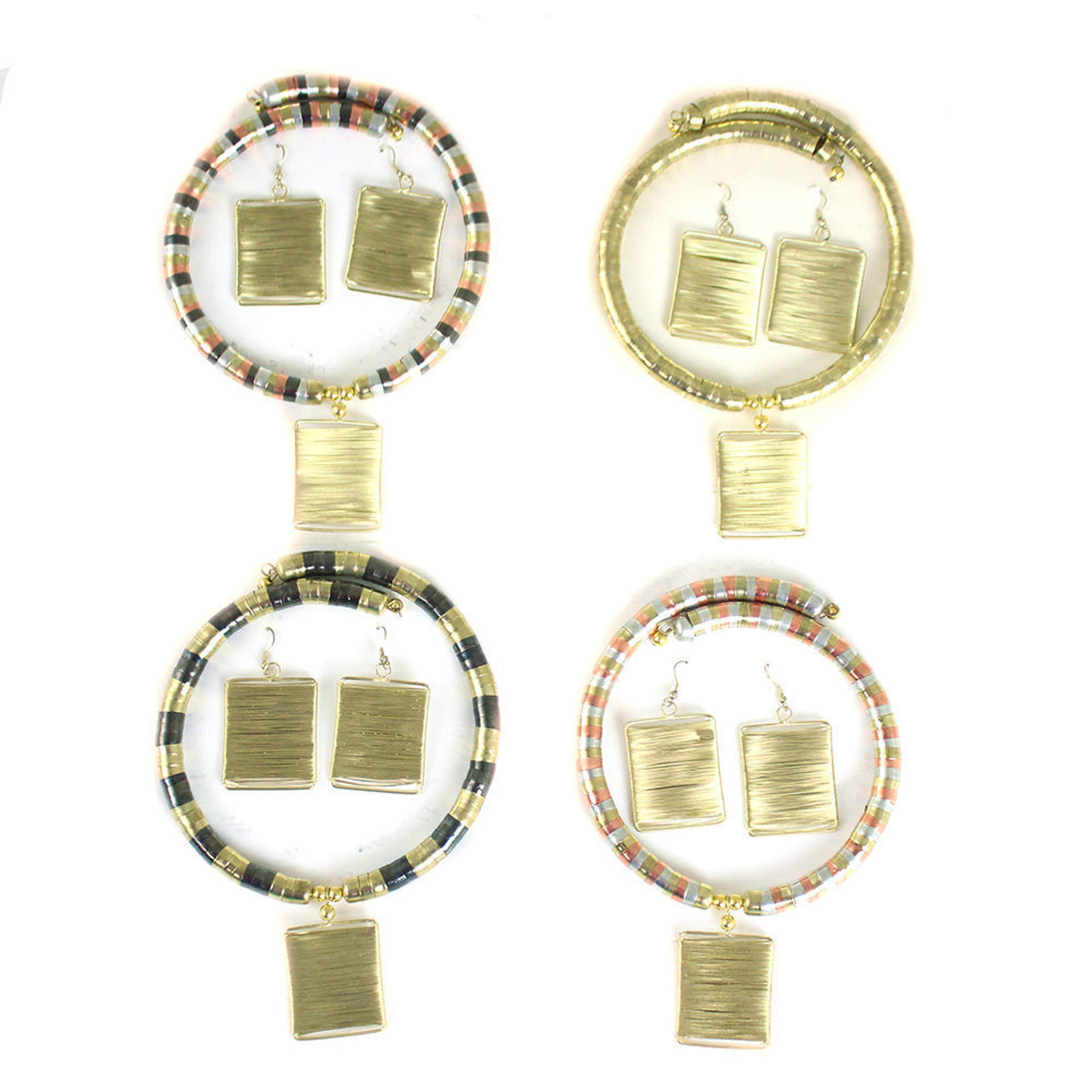 Picture of Golden Goddess Jewelry Set ASSORTED