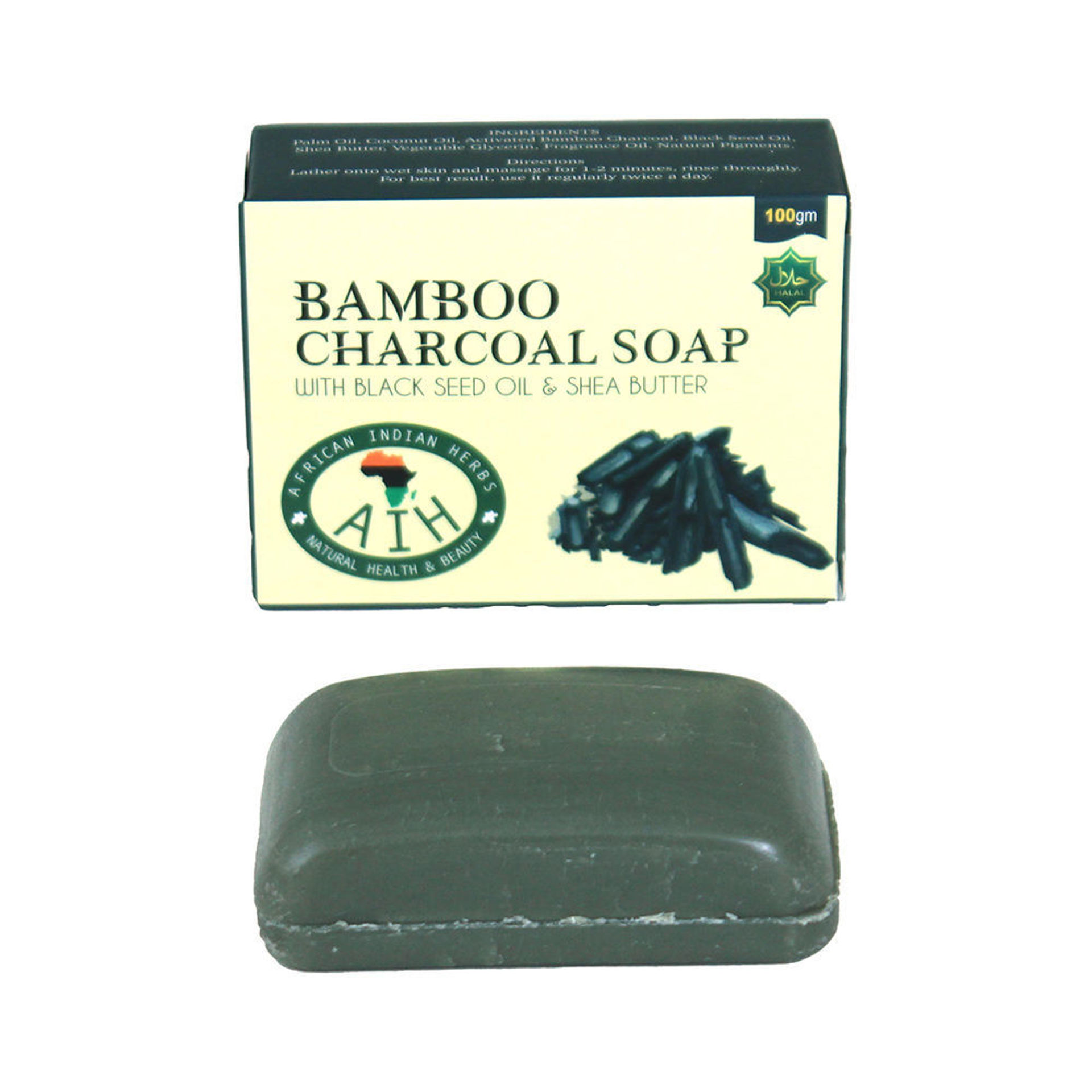 Picture of Bamboo Charcoal Soap - 3.5 oz.