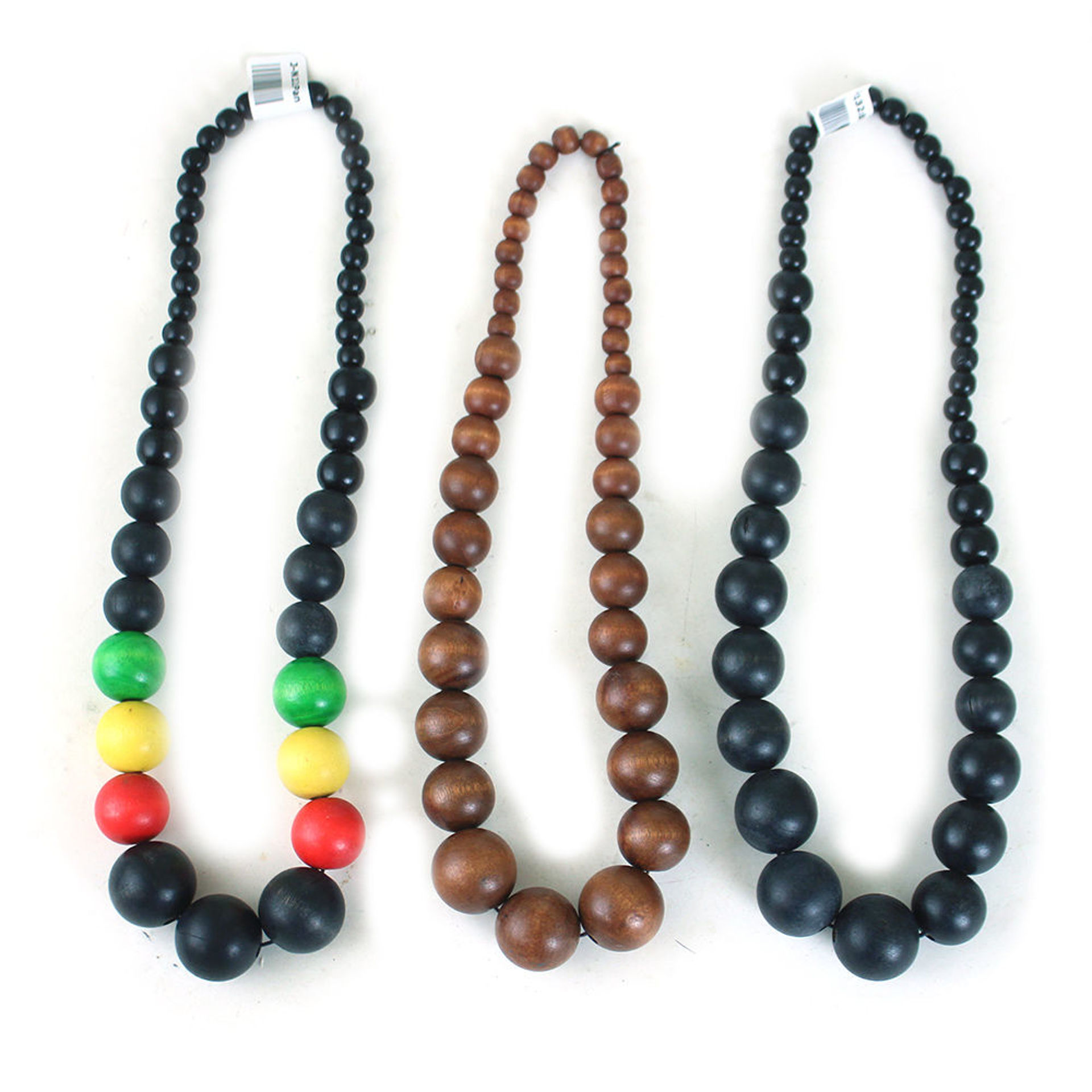 Picture of Kenyan Wood Bead Necklace